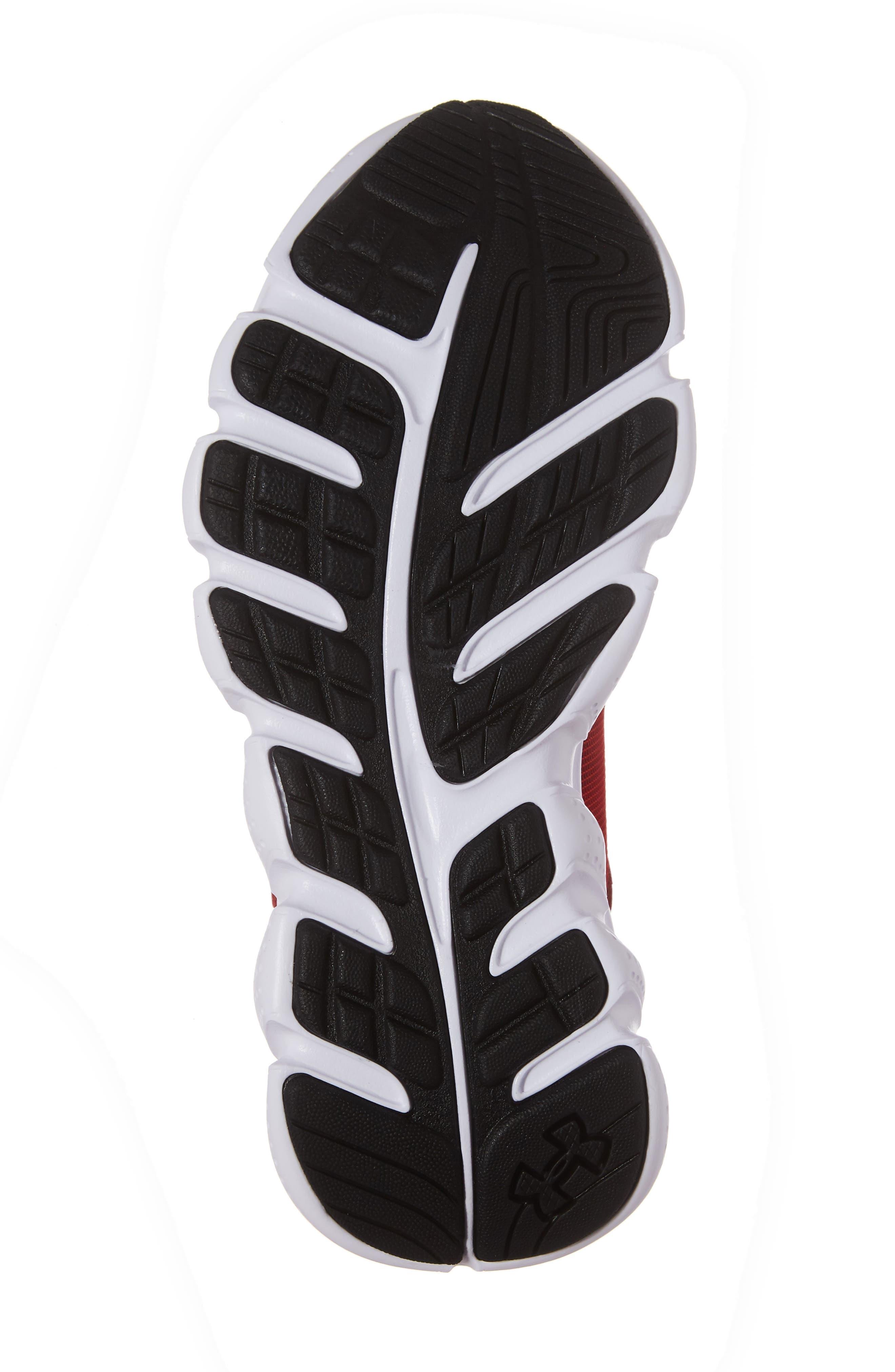 'Micro G<sup>®</sup> Assert VI' Running Shoe,                             Alternate thumbnail 6, color,                             Red/ White/ White