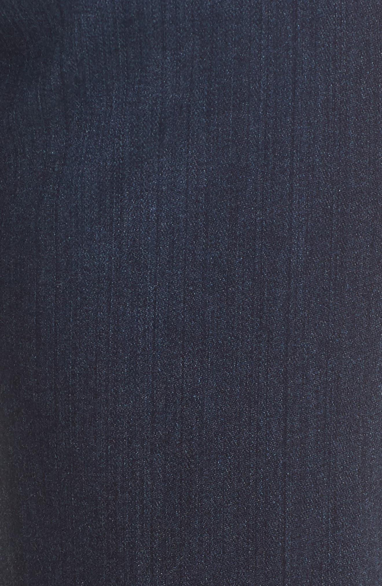 'The Prima' Mid Rise Cigarette Skinny Jeans,                             Alternate thumbnail 6, color,                             Gallant