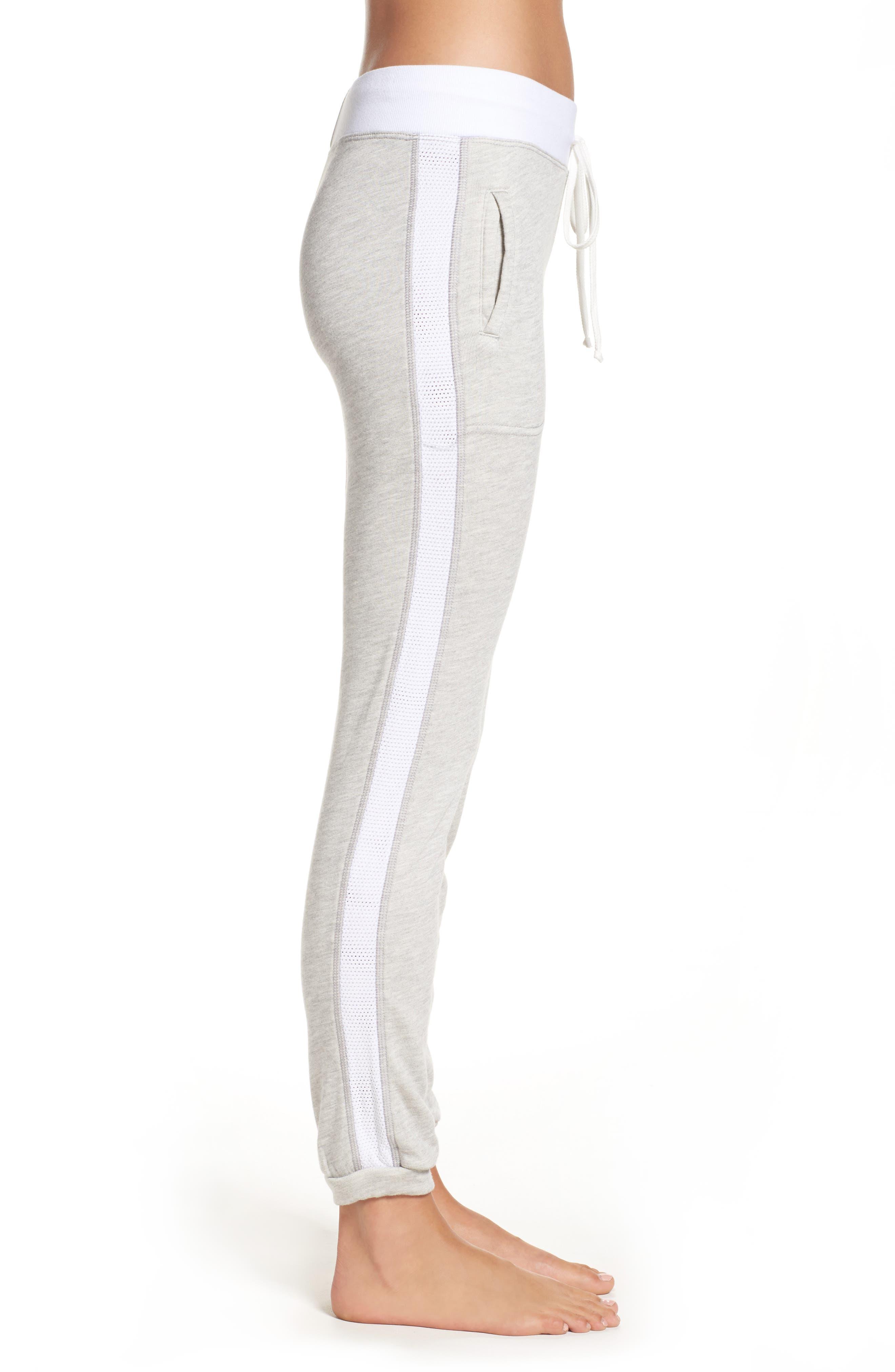 Alternate Image 3  - Hard Tail Mesh Stripe Track Pants