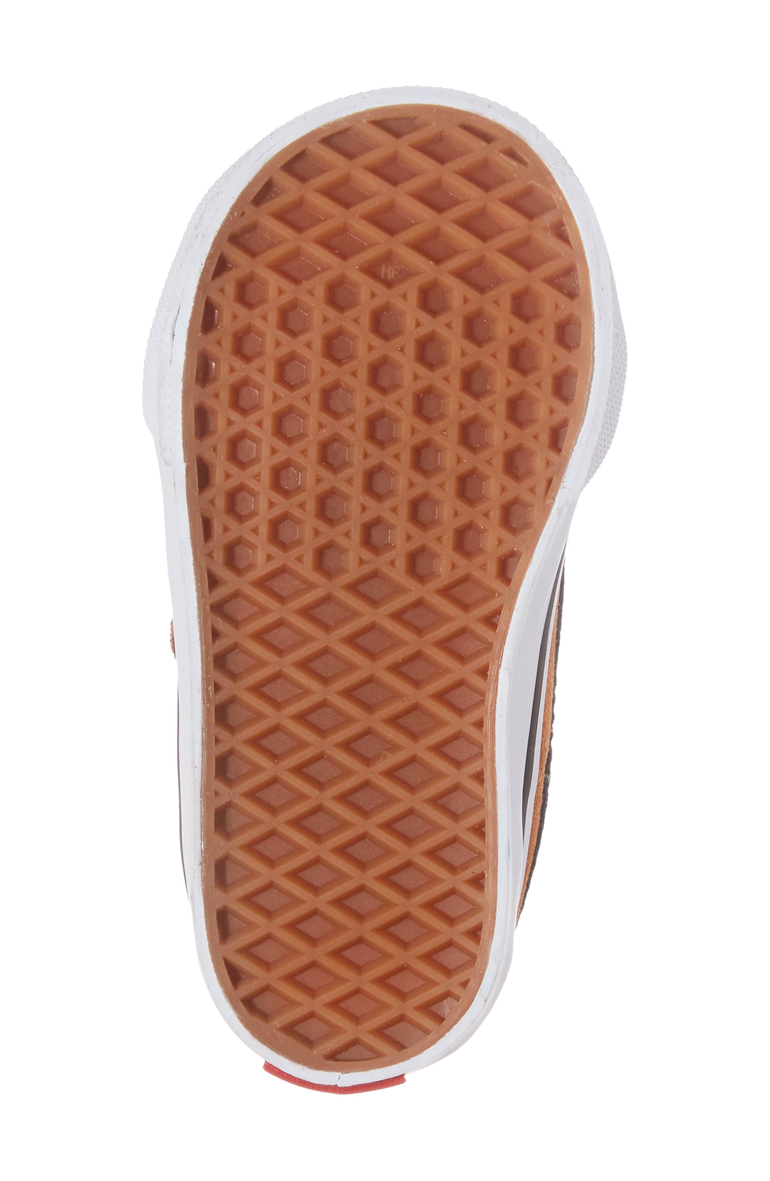 SK8-Mid Reissue Sneaker,                             Alternate thumbnail 6, color,                             Glazed Ginger/ Black