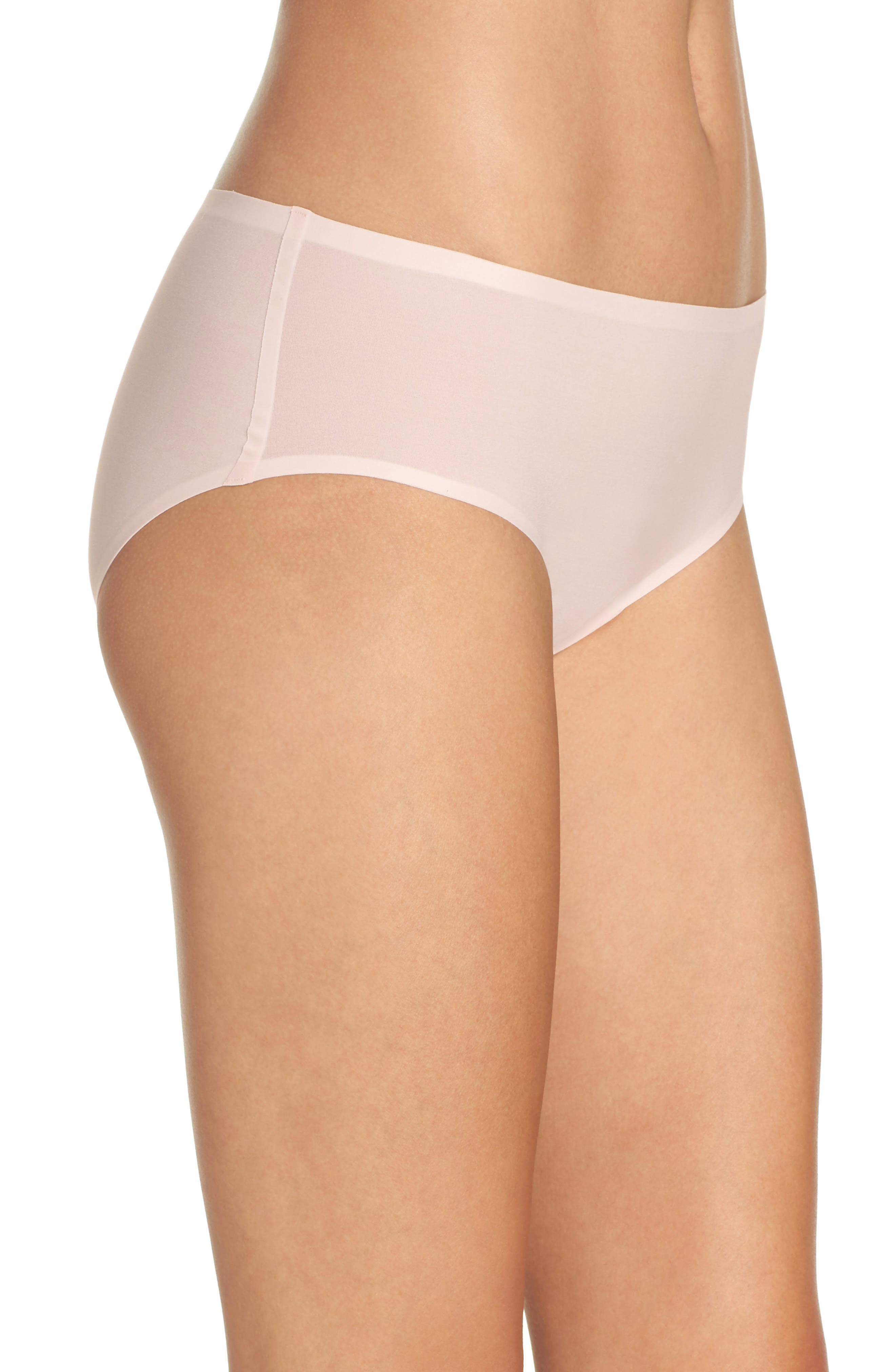 Alternate Image 3  - Chantelle Intimates Soft Stretch Seamless Hipster Panties (3 for $45)