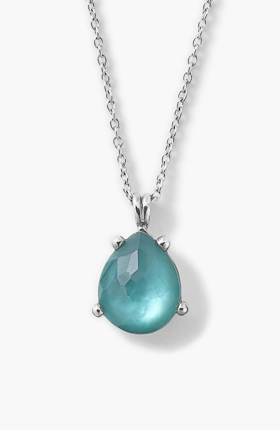 Alternate Image 1 Selected - Ippolita 'Rock Candy' Teardrop Pendant Necklace