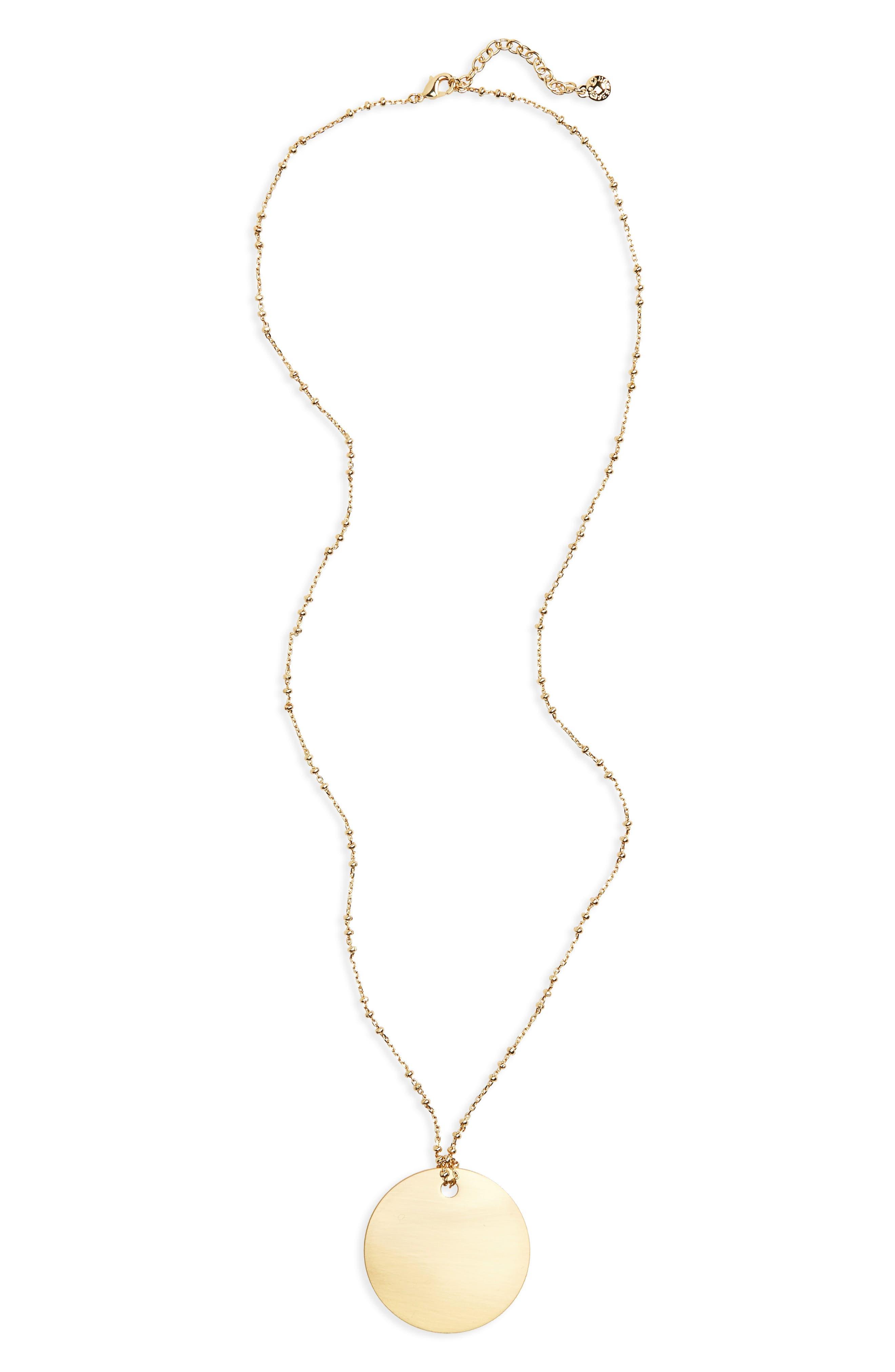 Main Image - BaubleBar Ada Pendant Necklace