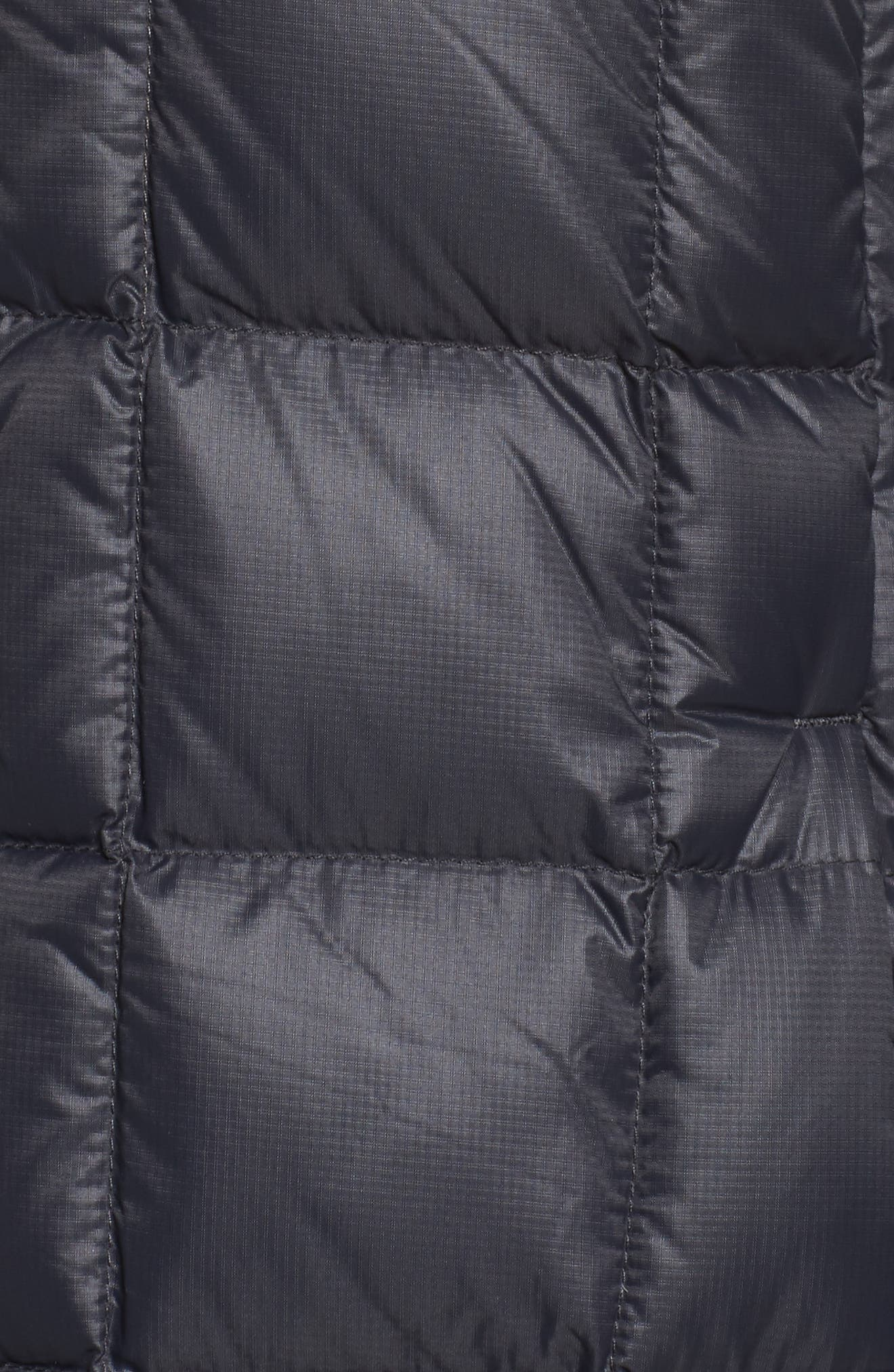 AK Baker Waterproof Quilted Down Insulator Jacket with Removable Hood,                             Alternate thumbnail 6, color,                             True Black