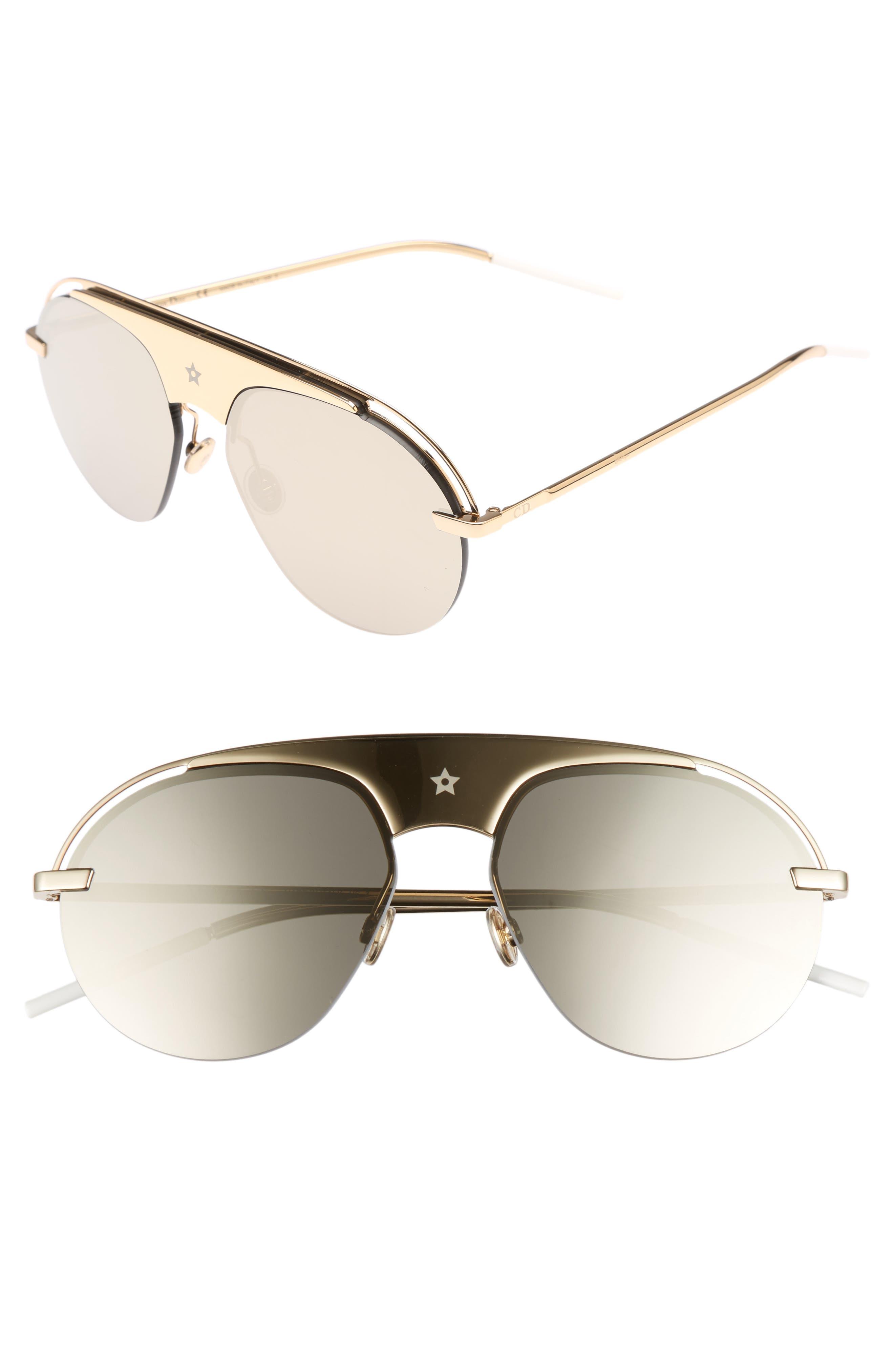 Dior Evolution 2 60mm Aviator Sunglasses