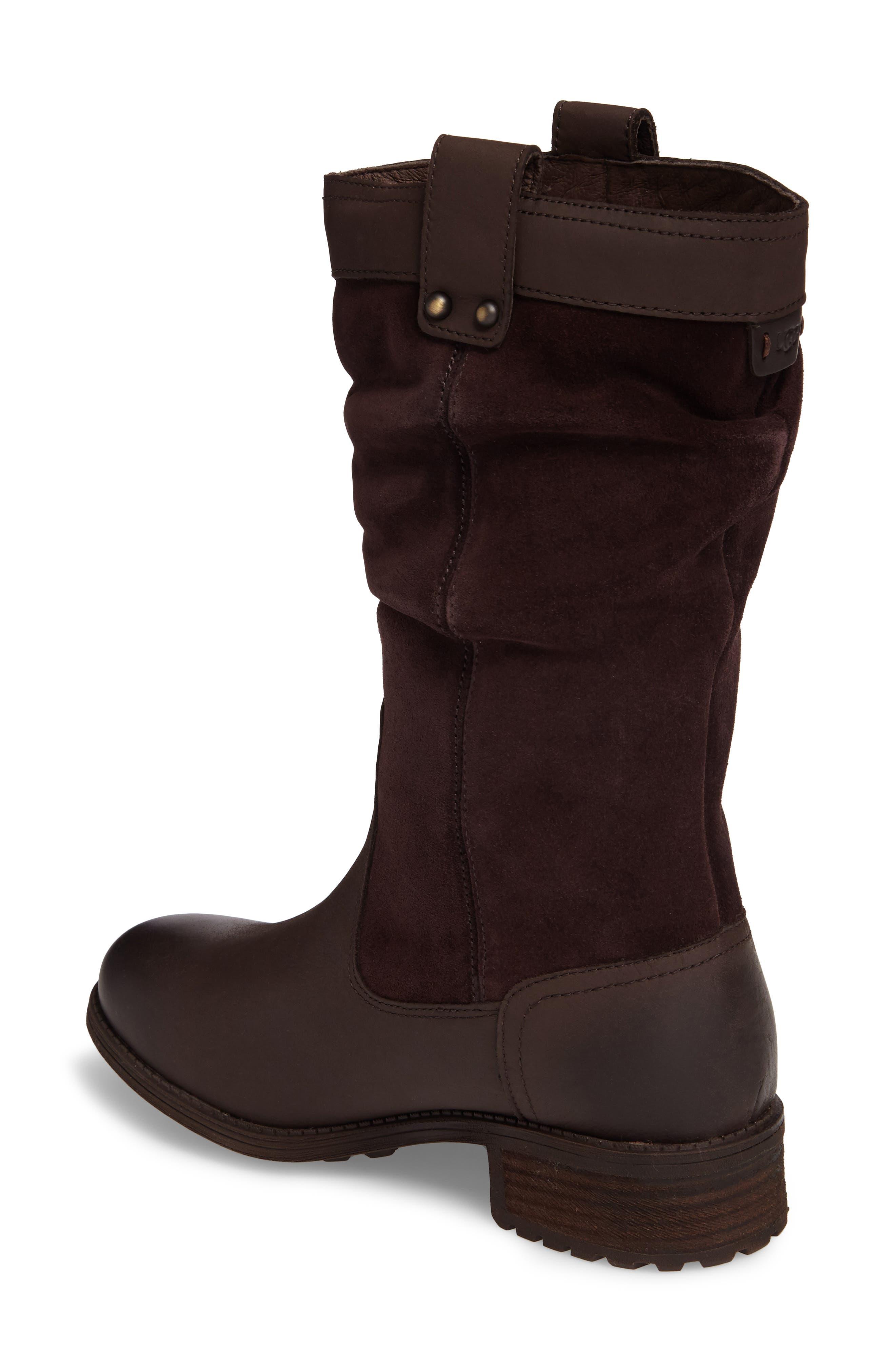 Alternate Image 2  - UGG® Bruckner Water Resistant Slouch Boot (Women)