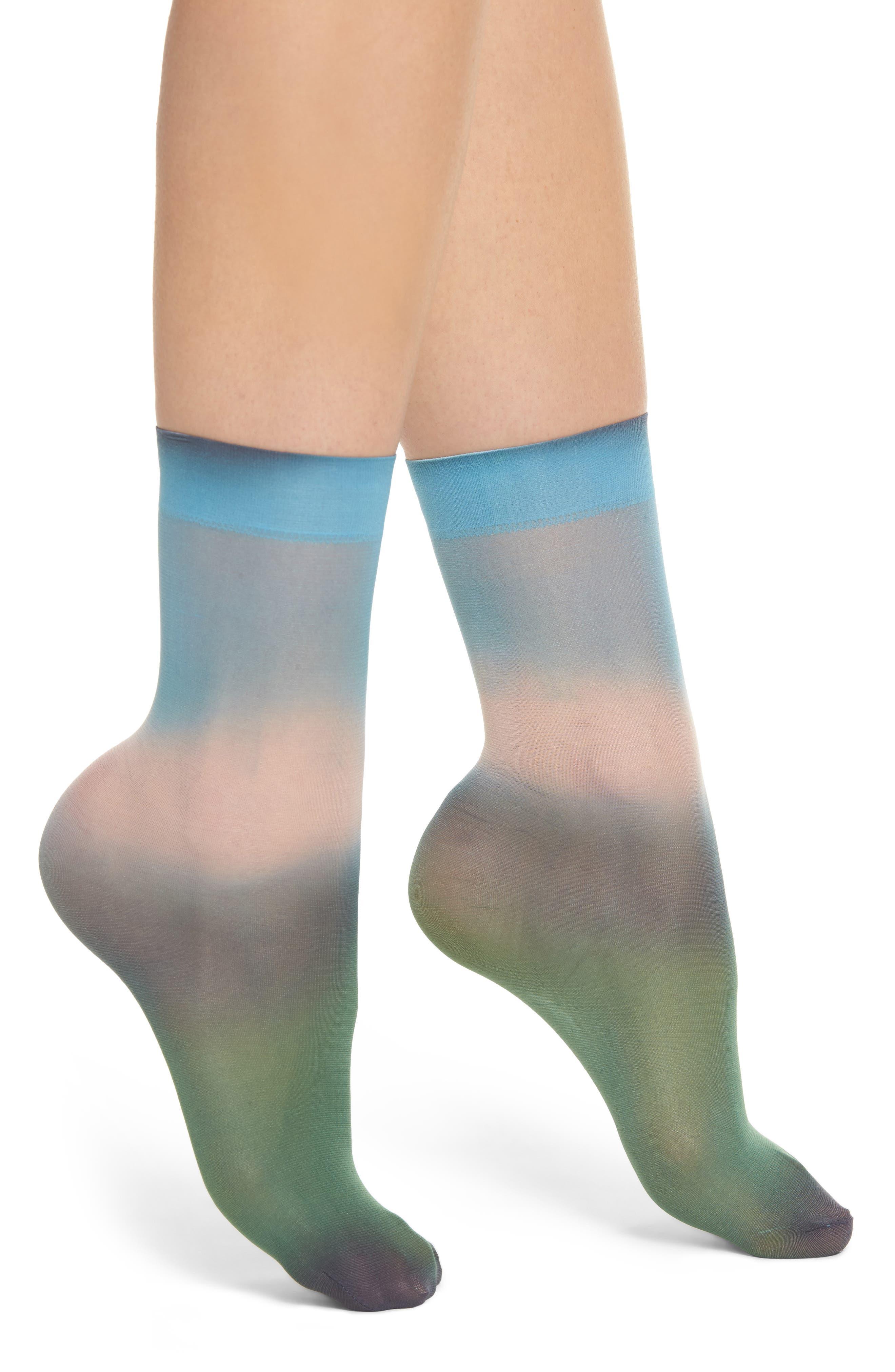 Main Image - Hysteria by Happy Socks Mia Dip Dye Socks