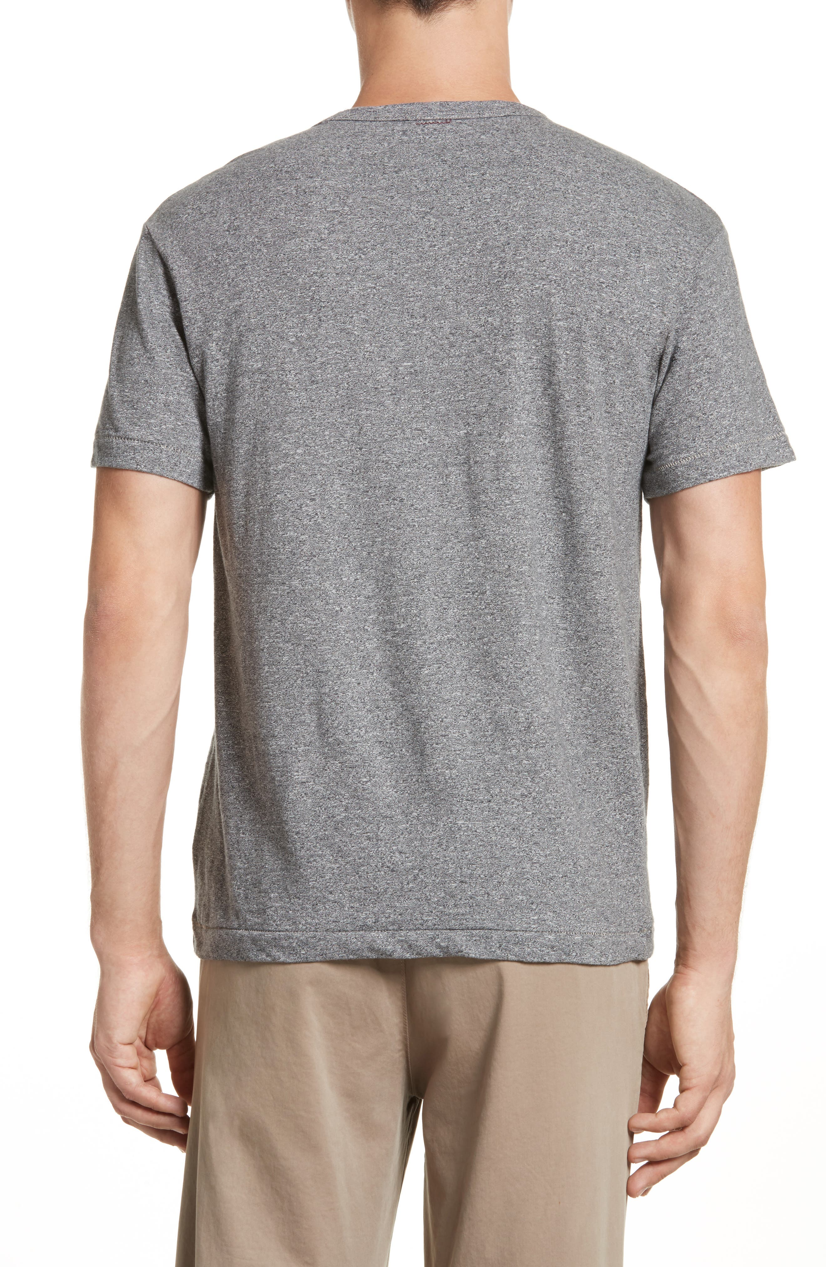 Alternate Image 2  - Todd Snyder + Champion Heathered Crewneck T-Shirt