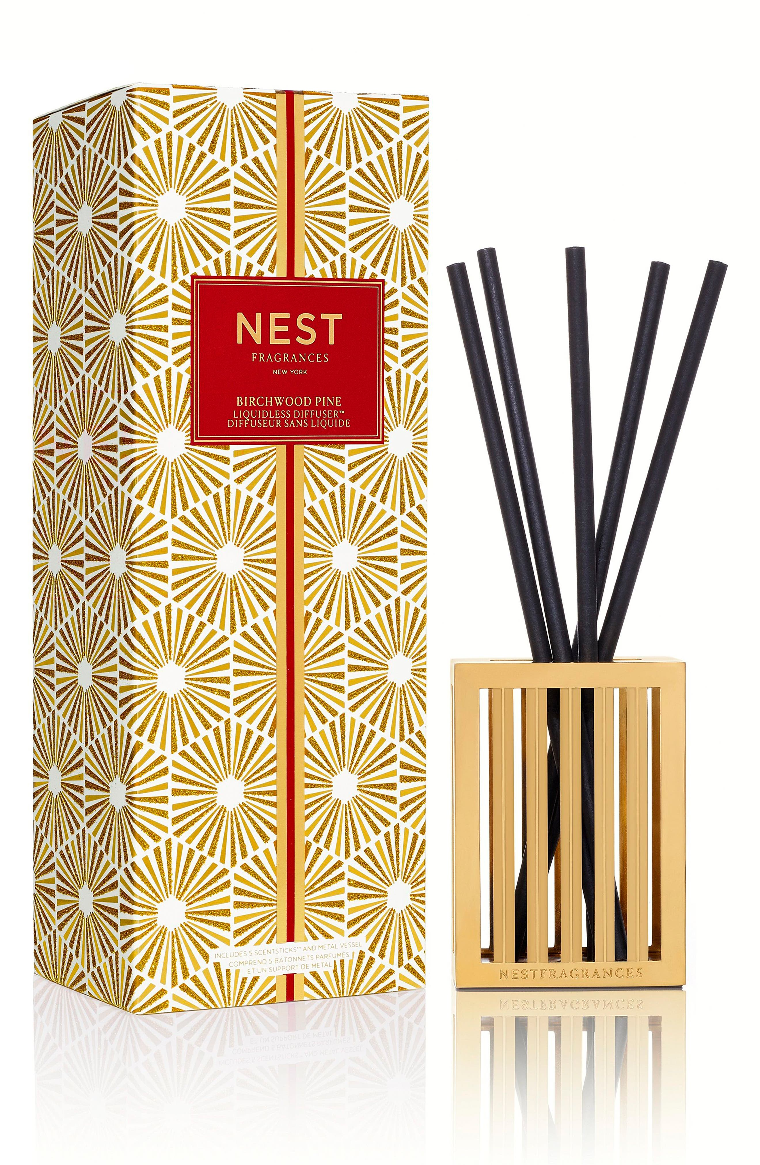 Alternate Image 1 Selected - NEST Fragrances Birchwood Pine Liquidless Diffuser