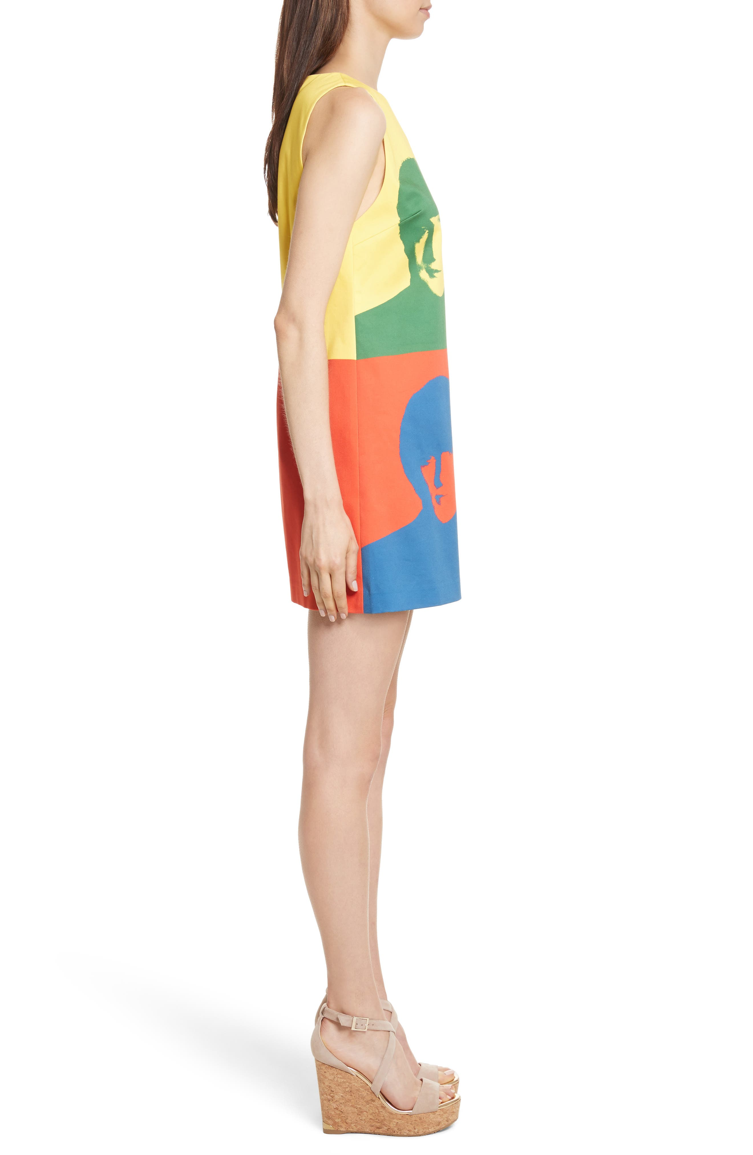 Alternate Image 3  - Alice + Olivia AO x The Beatles Clyde A-Line Shift Dress
