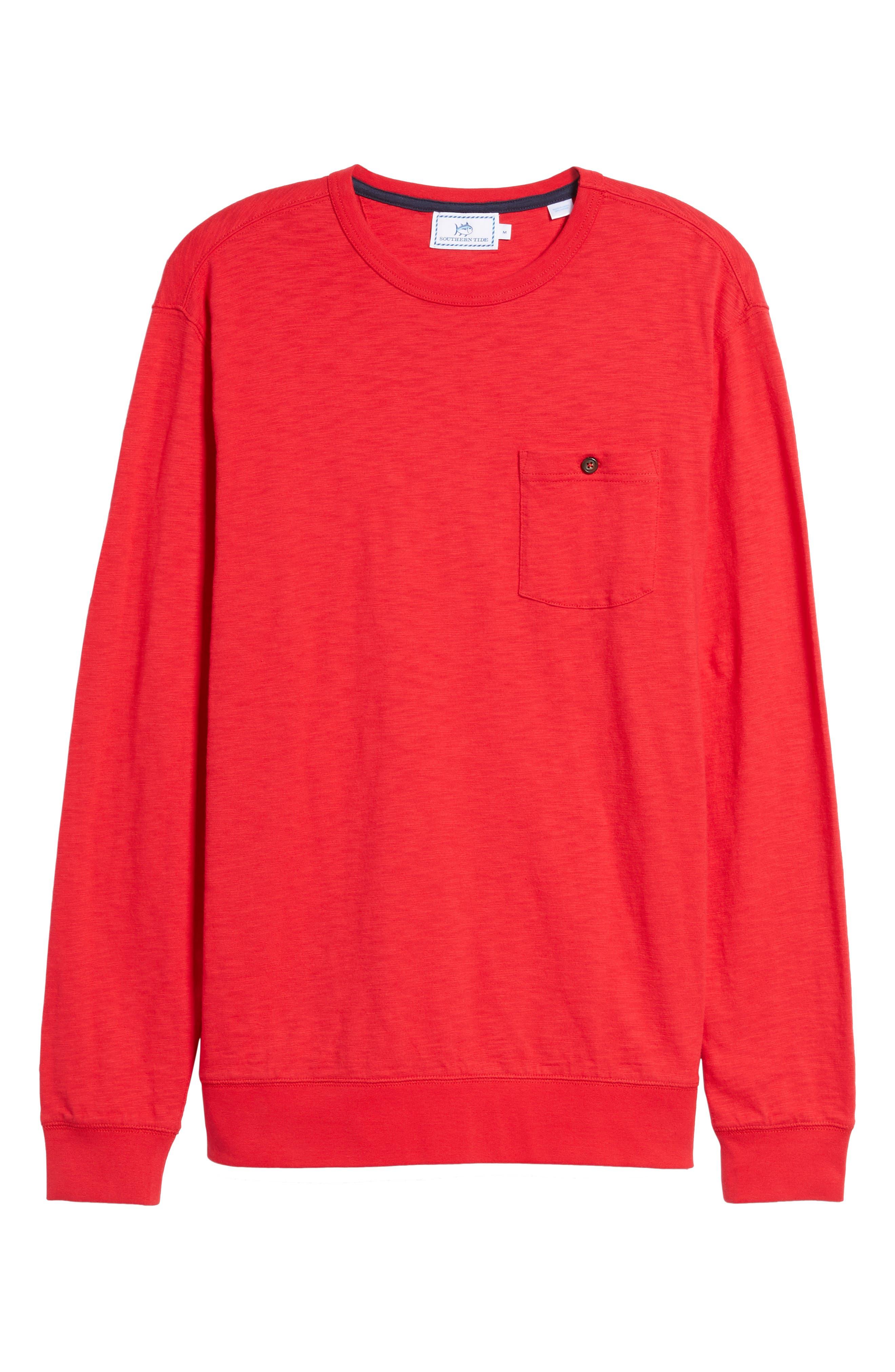 Alternate Image 6  - Southern Tide Montford Slub Pocket T-Shirt
