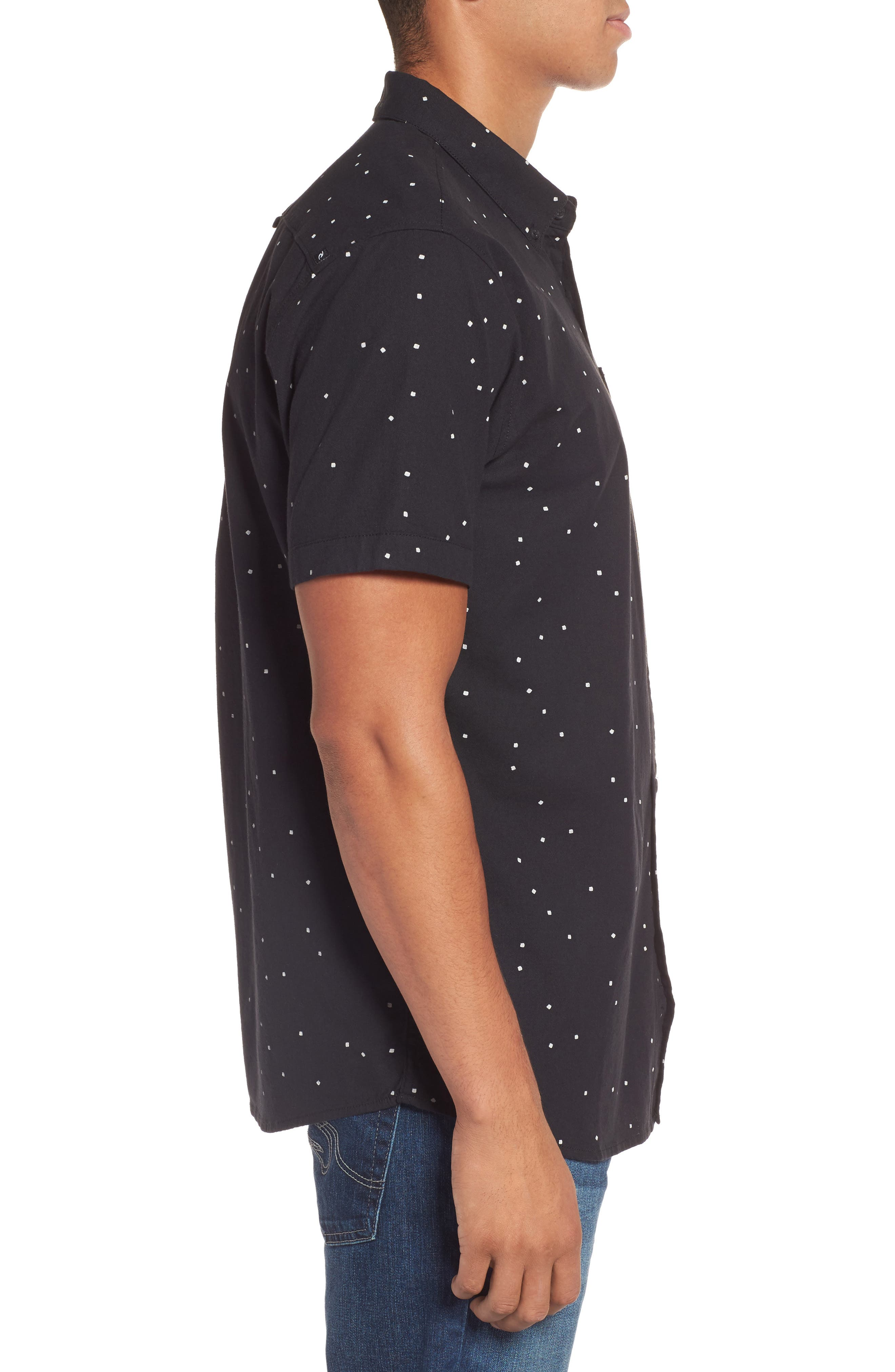 Alternate Image 3  - Rip Curl Mixter Short Sleeve Shirt
