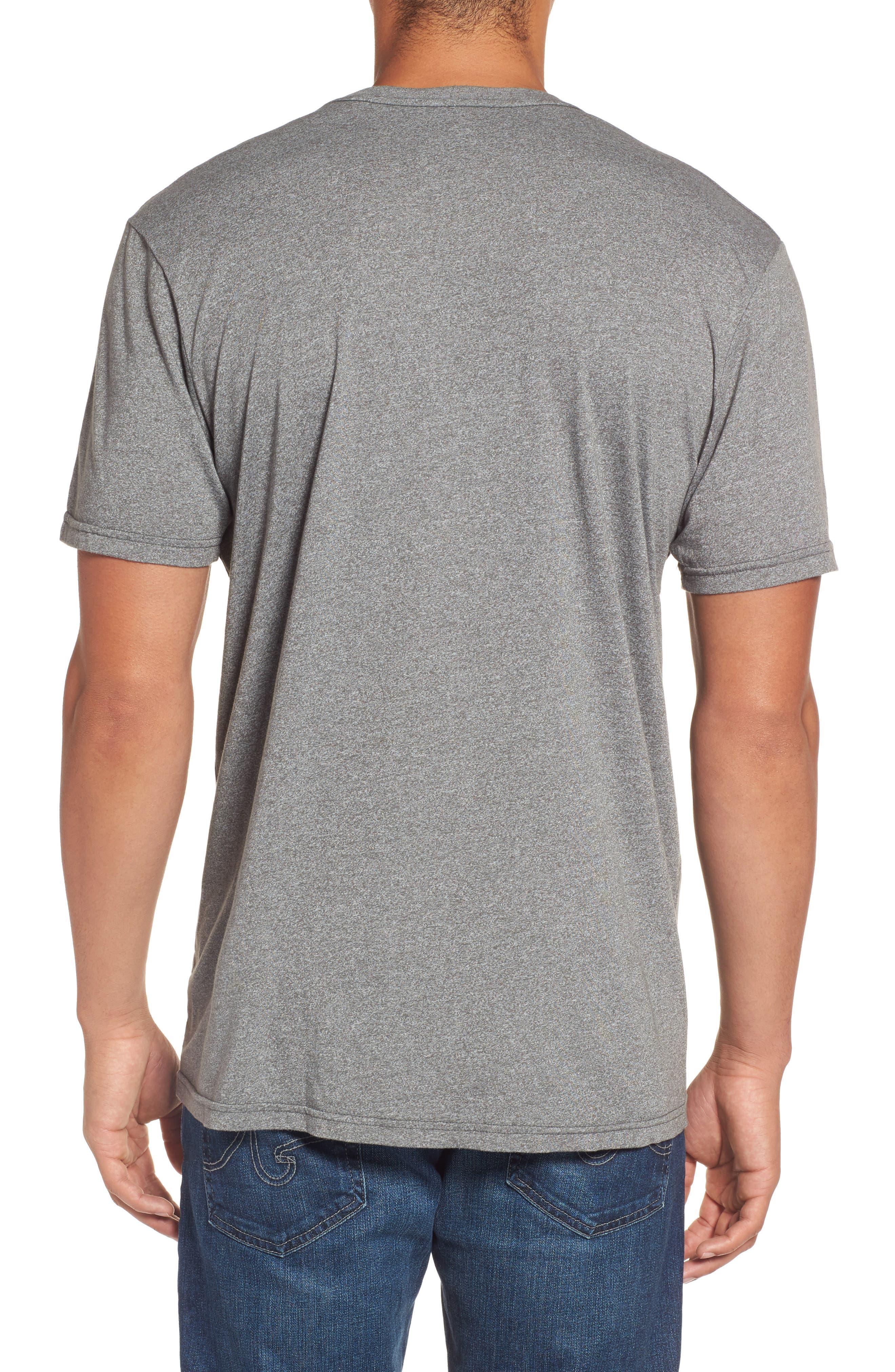 Alternate Image 2  - Rip Curl Era Mock Twist Logo Graphic T-Shirt