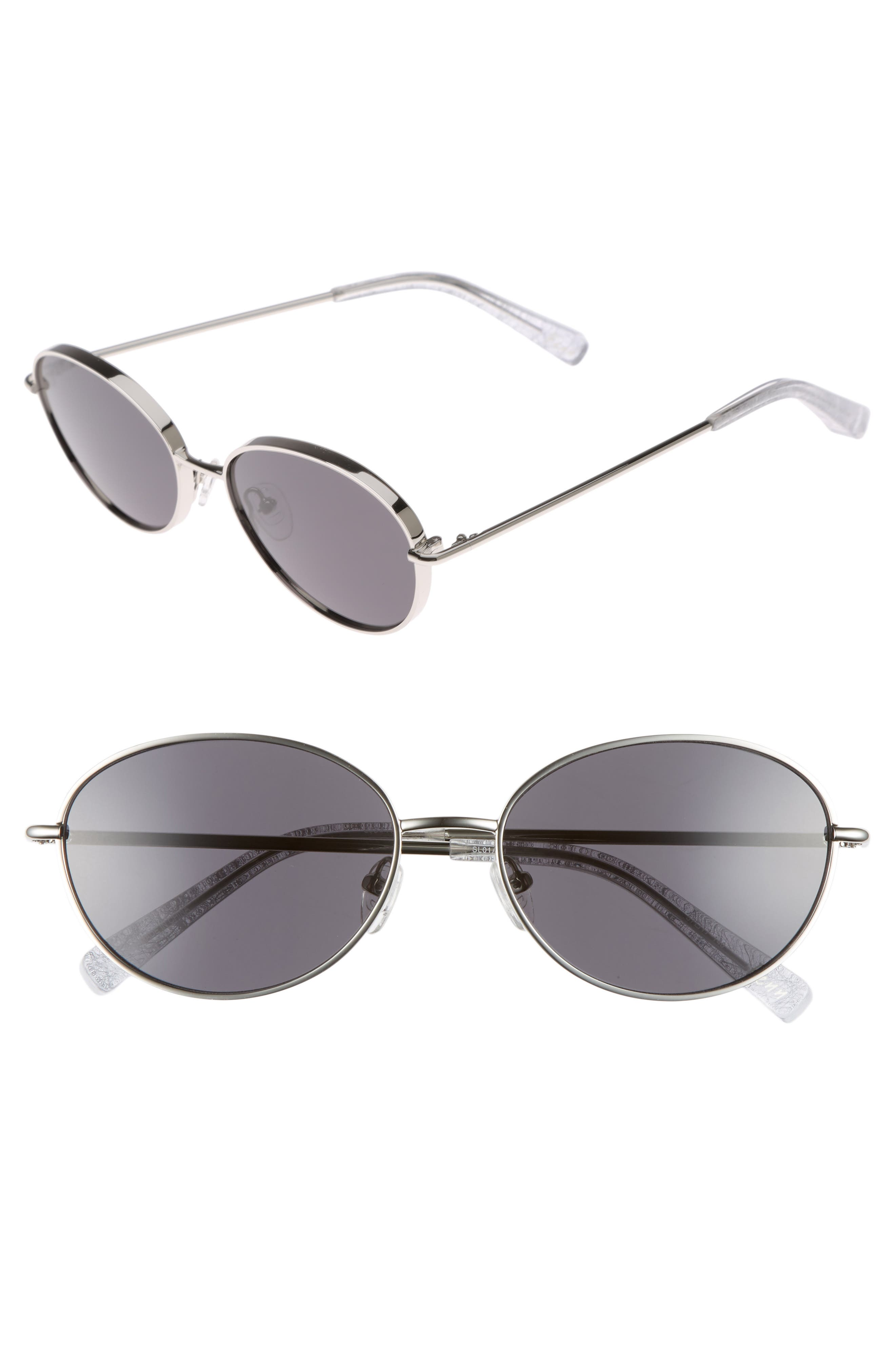 Elizabeth and James Fenn 57mm Oval Sunglasses