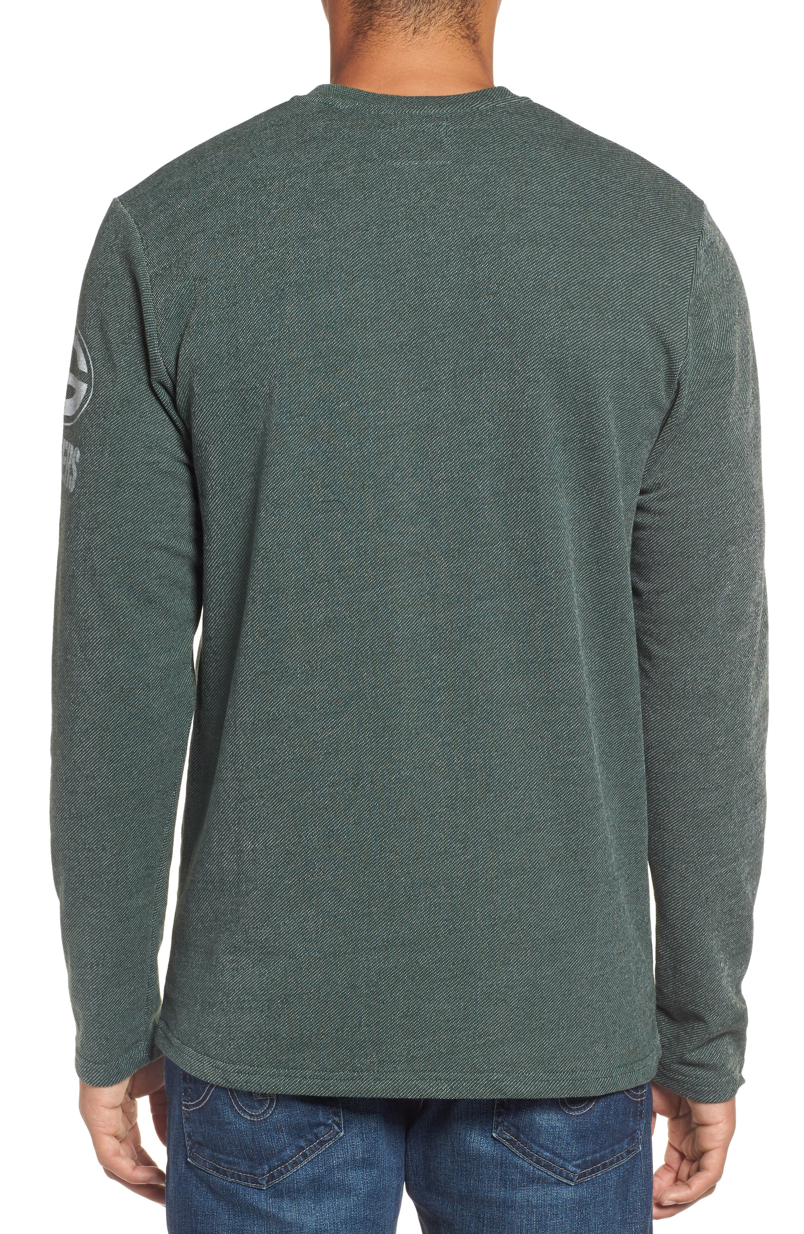 Green Bay Packers Henley,                             Alternate thumbnail 2, color,                             Dark Green