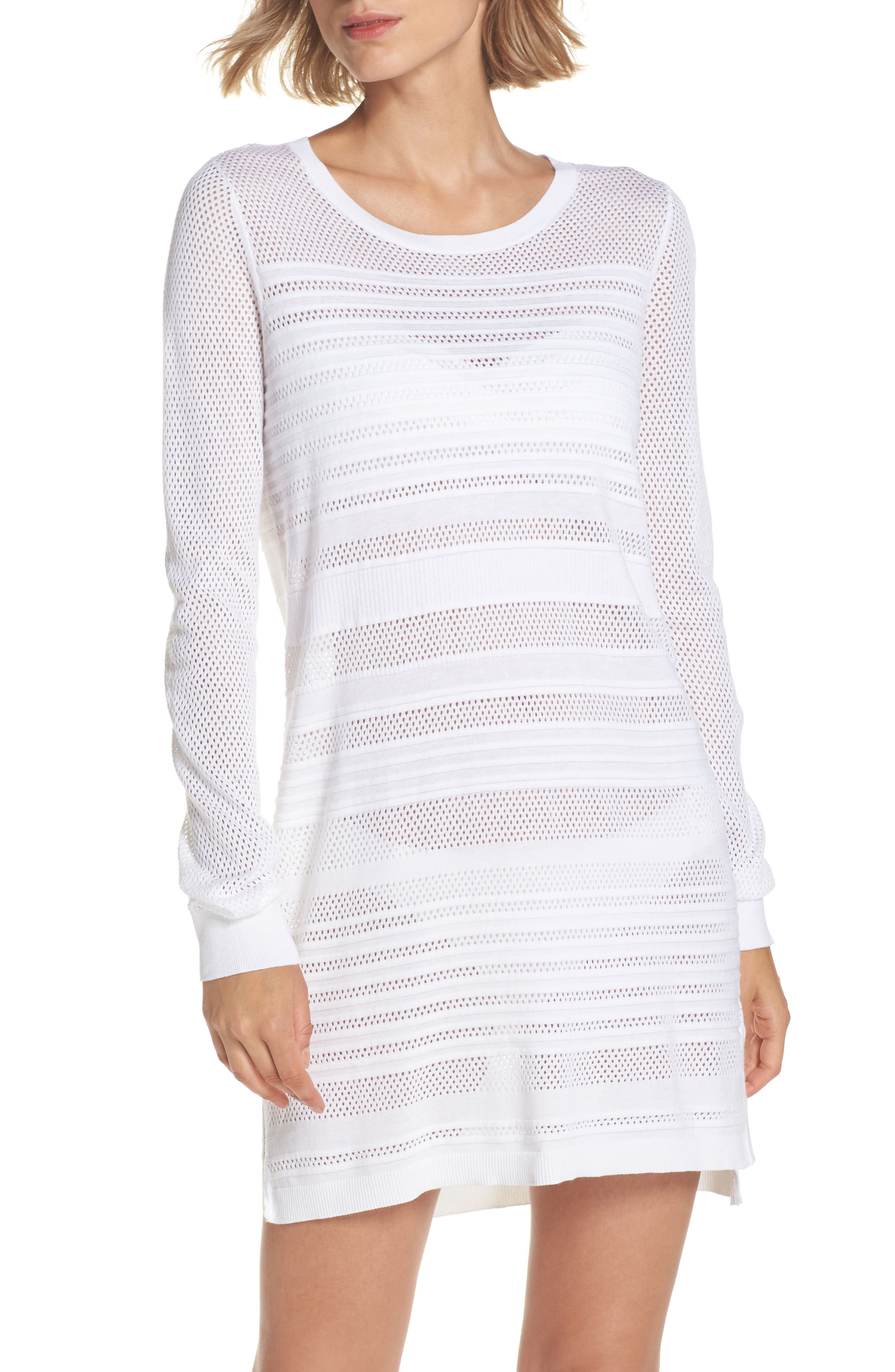 Tommy Bahama Shadow Stripe Cover-Up Dress