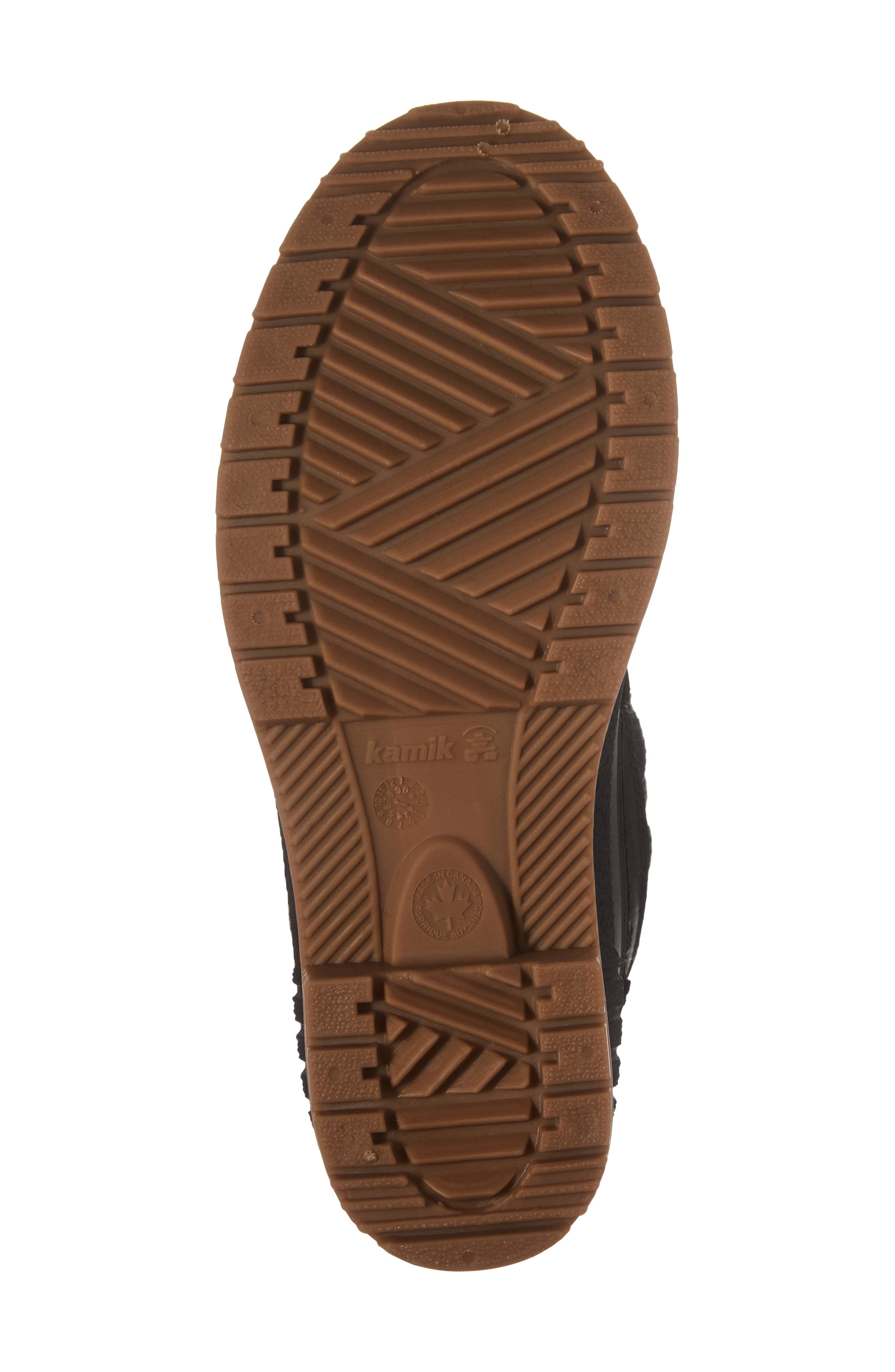 Sienna Boot,                             Alternate thumbnail 5, color,                             Black Fabric