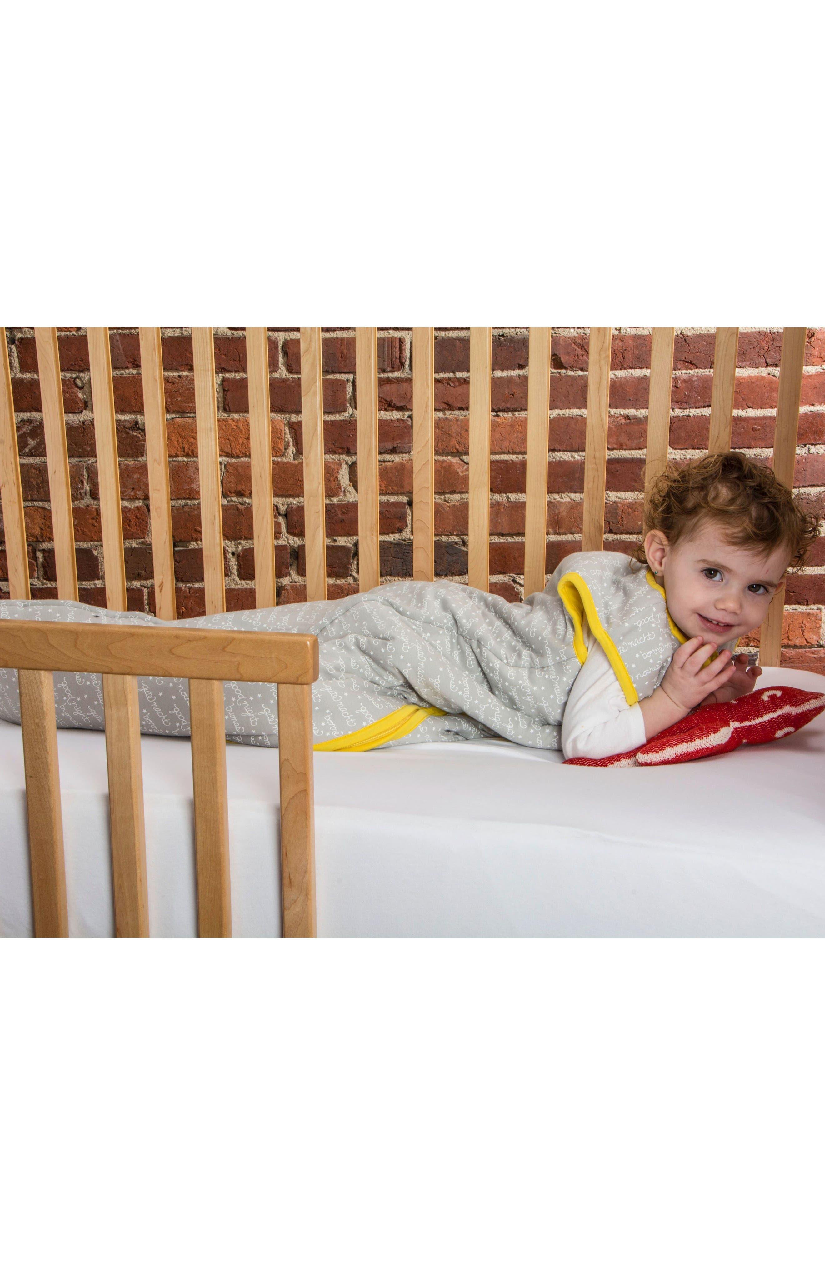 Good Night Organic Cotton Wearable Blanket,                             Alternate thumbnail 3, color,                             Good Night Print
