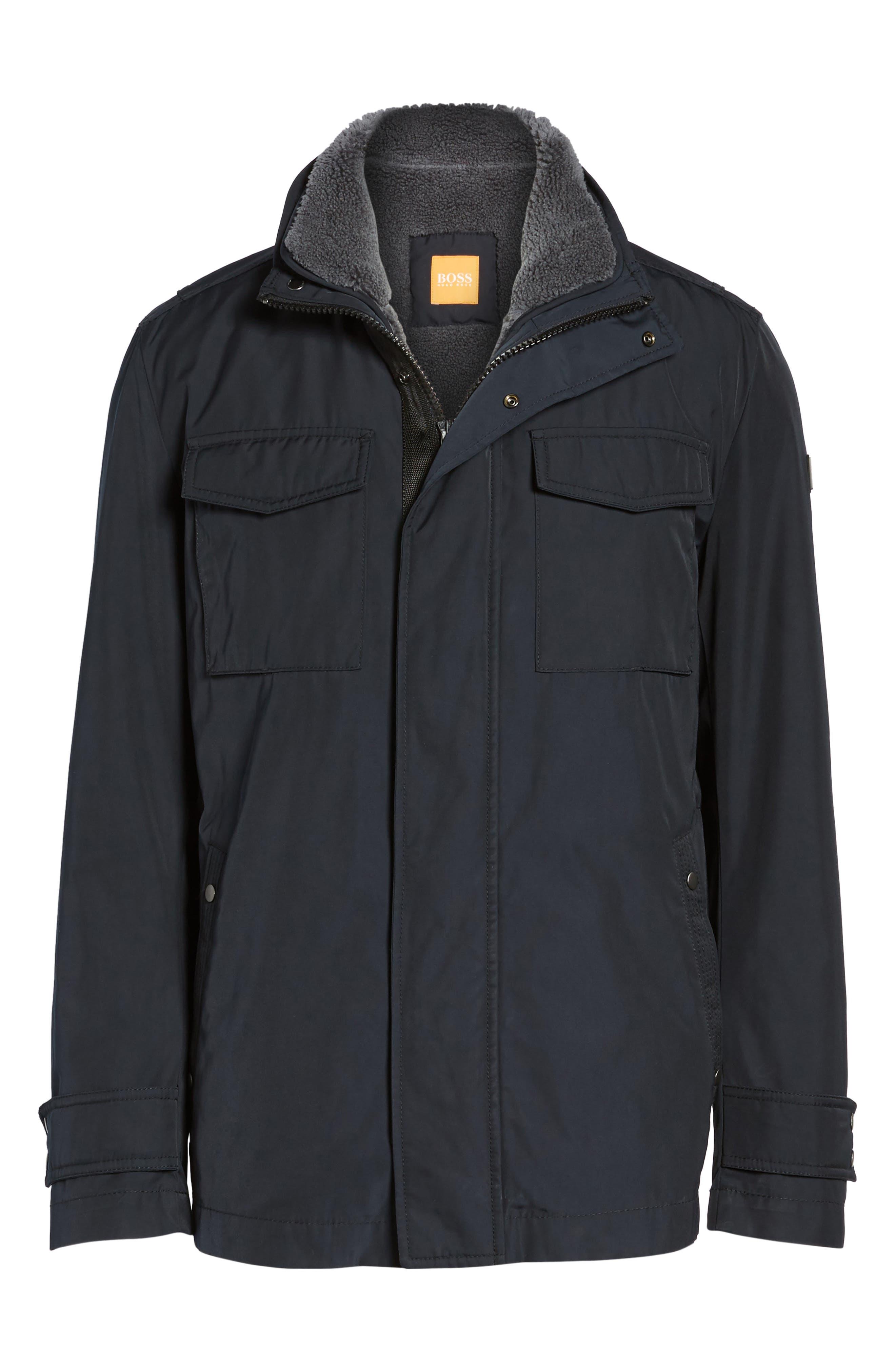 Alternate Image 6  - BOSS Orange Onick Water Repellent 3-in-1 Field Jacket