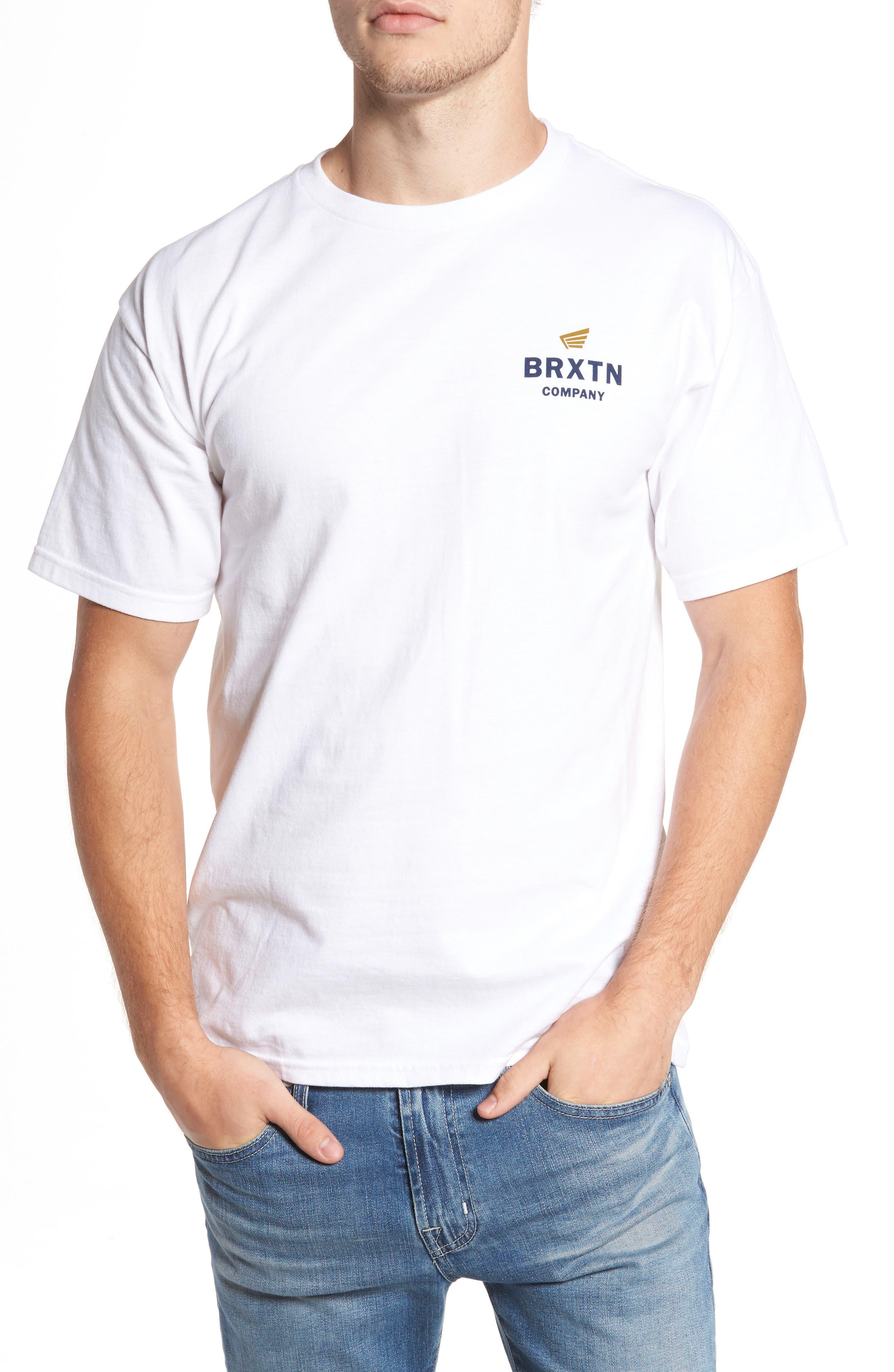 Peabody Standard T-Shirt,                         Main,                         color, White
