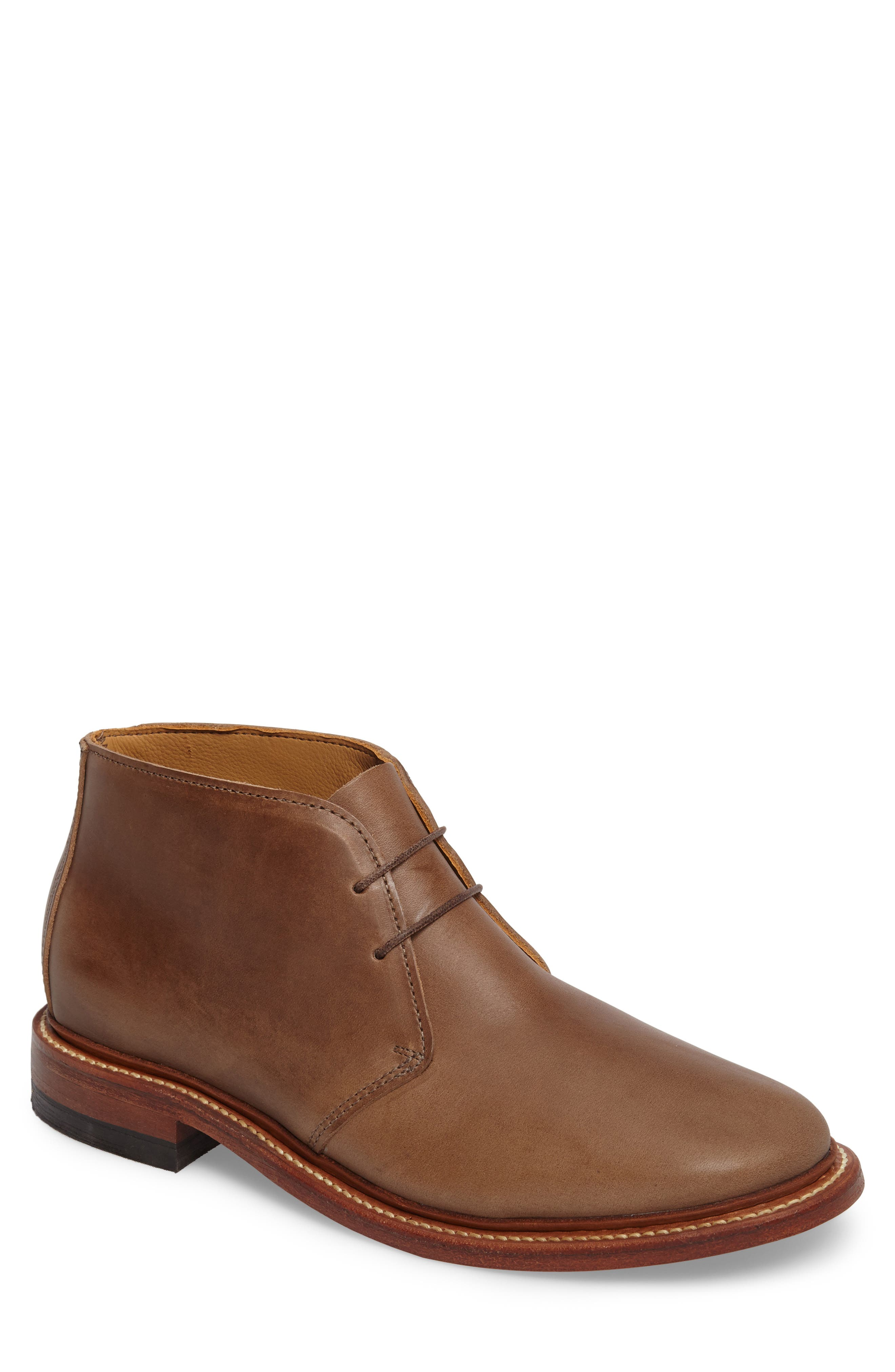 Campus Chukka Boot,                         Main,                         color, Natural Leather