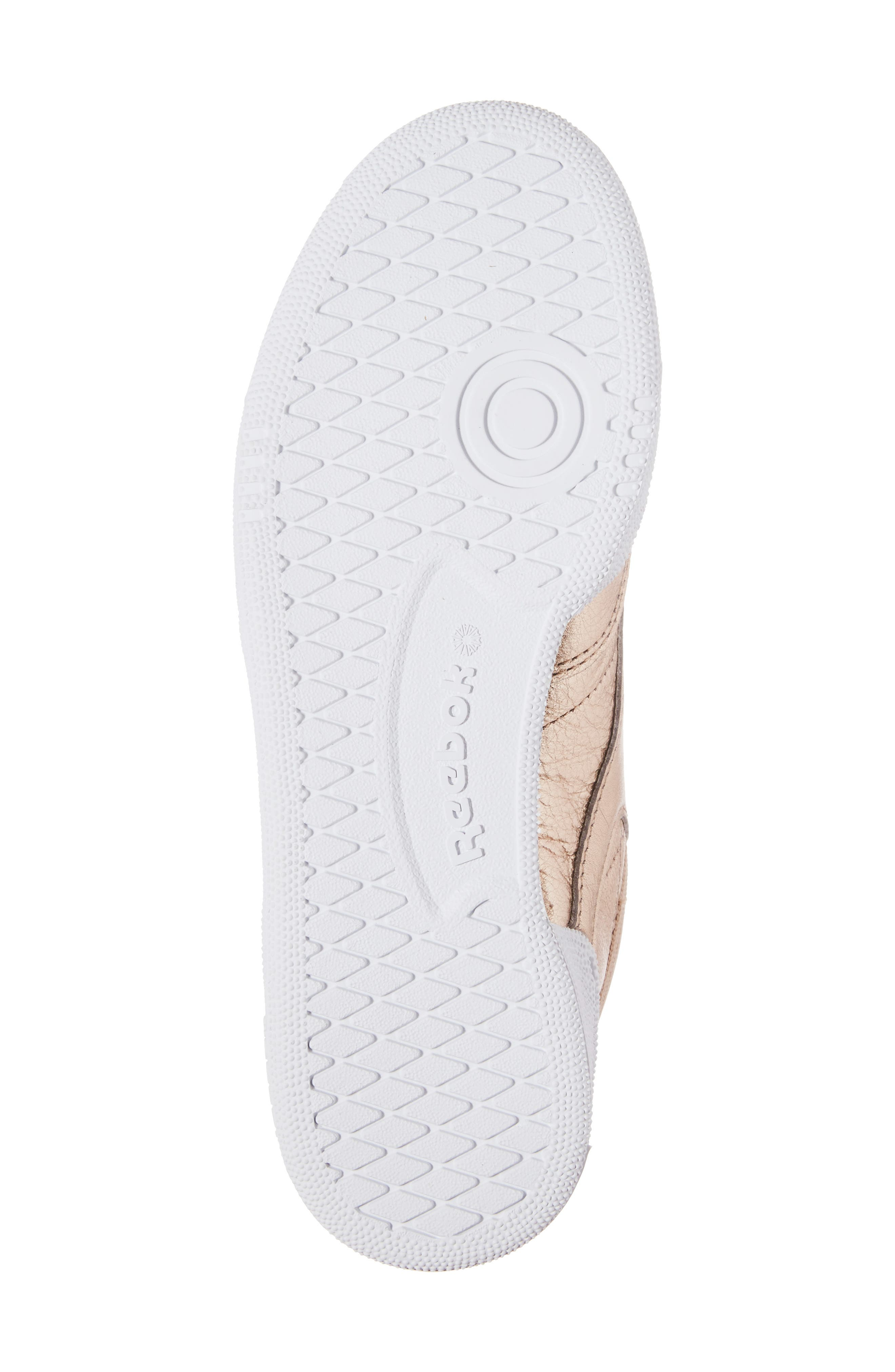 Club C 85 Sneaker,                             Alternate thumbnail 6, color,                             Peach/ White Pearl