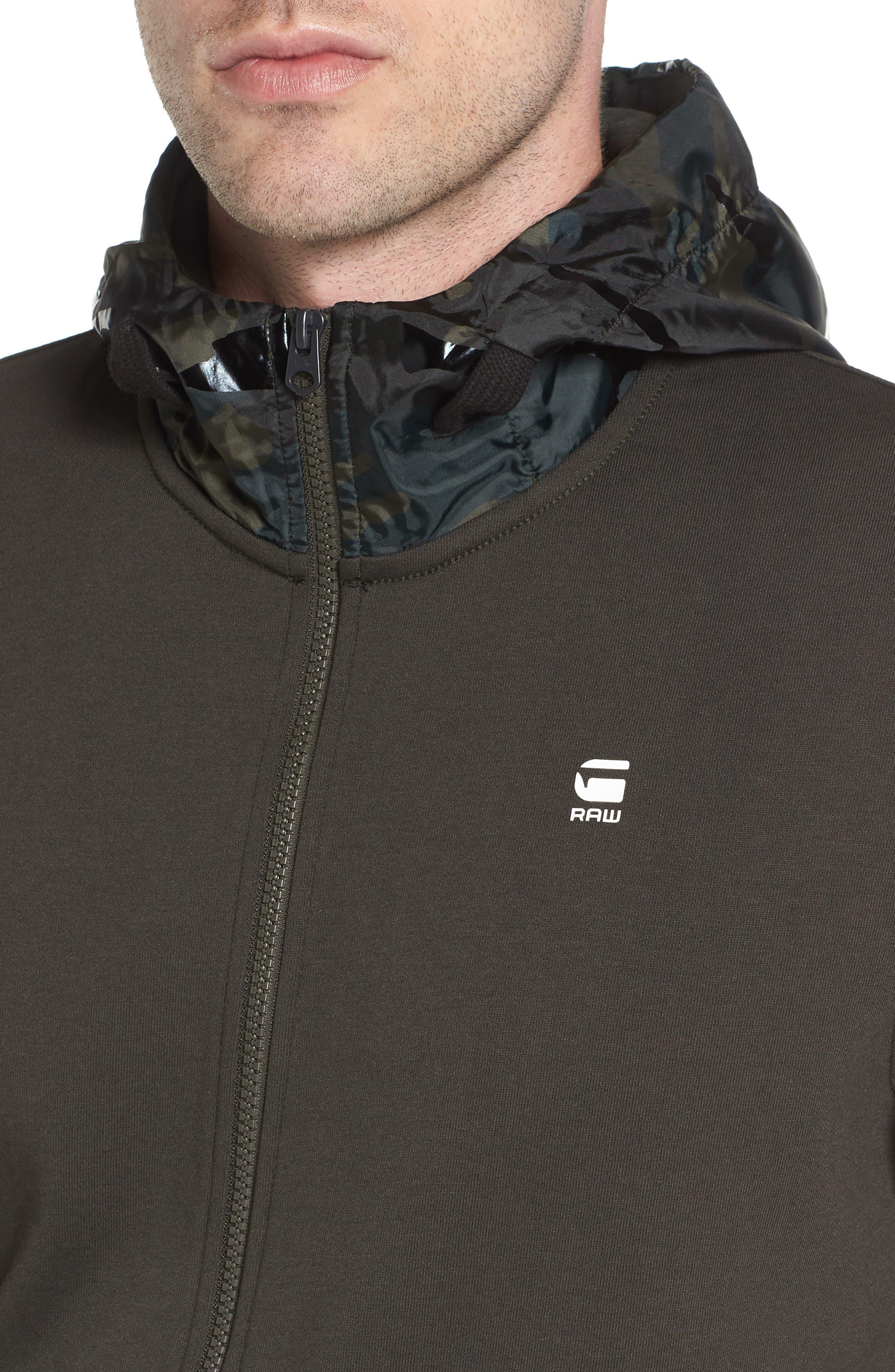 Alternate Image 4  - G-Star Raw Core Hooded Zip Sweatshirt