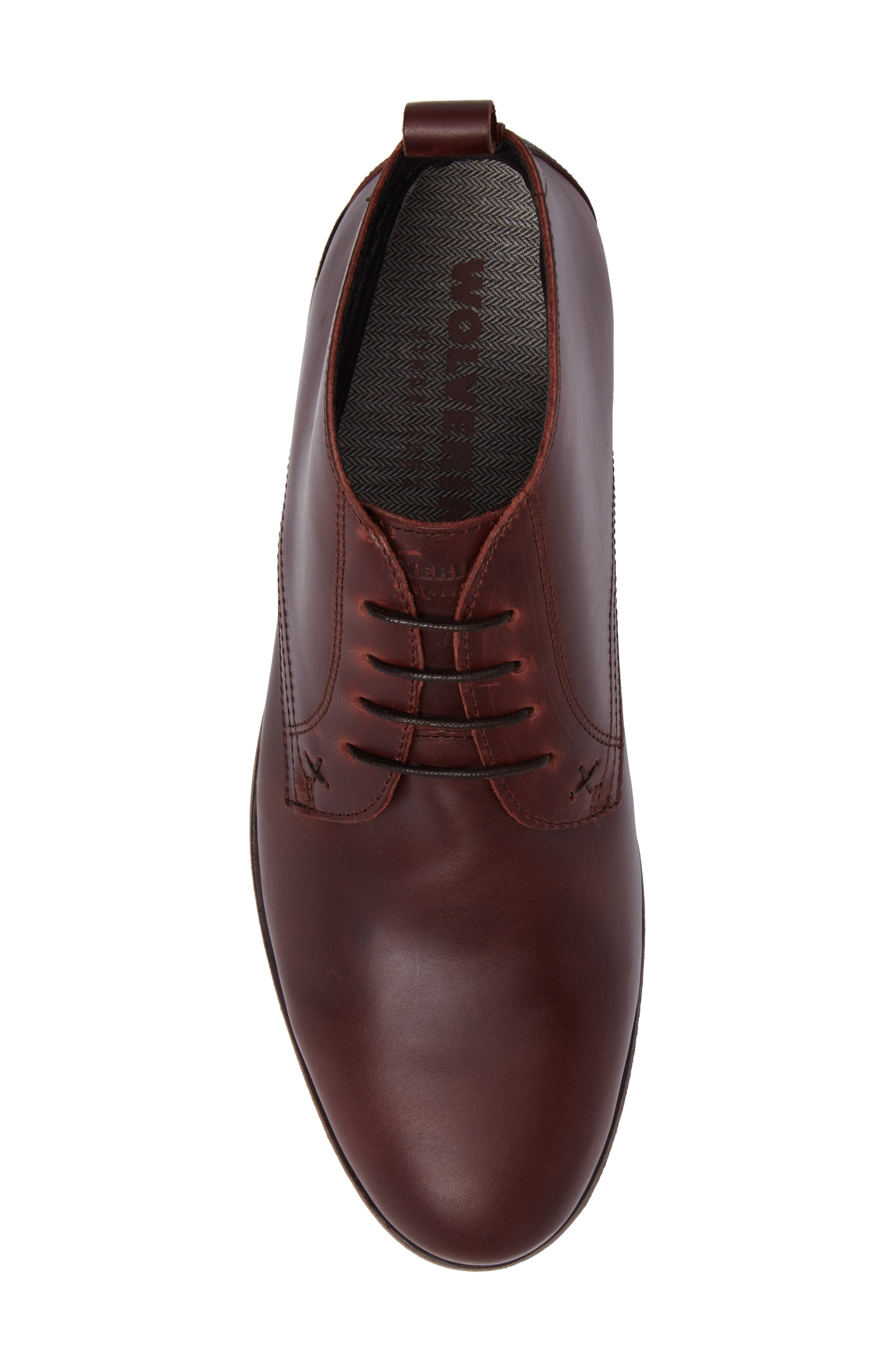 Deacon Chukka Boot,                             Alternate thumbnail 5, color,                             Brown Leather