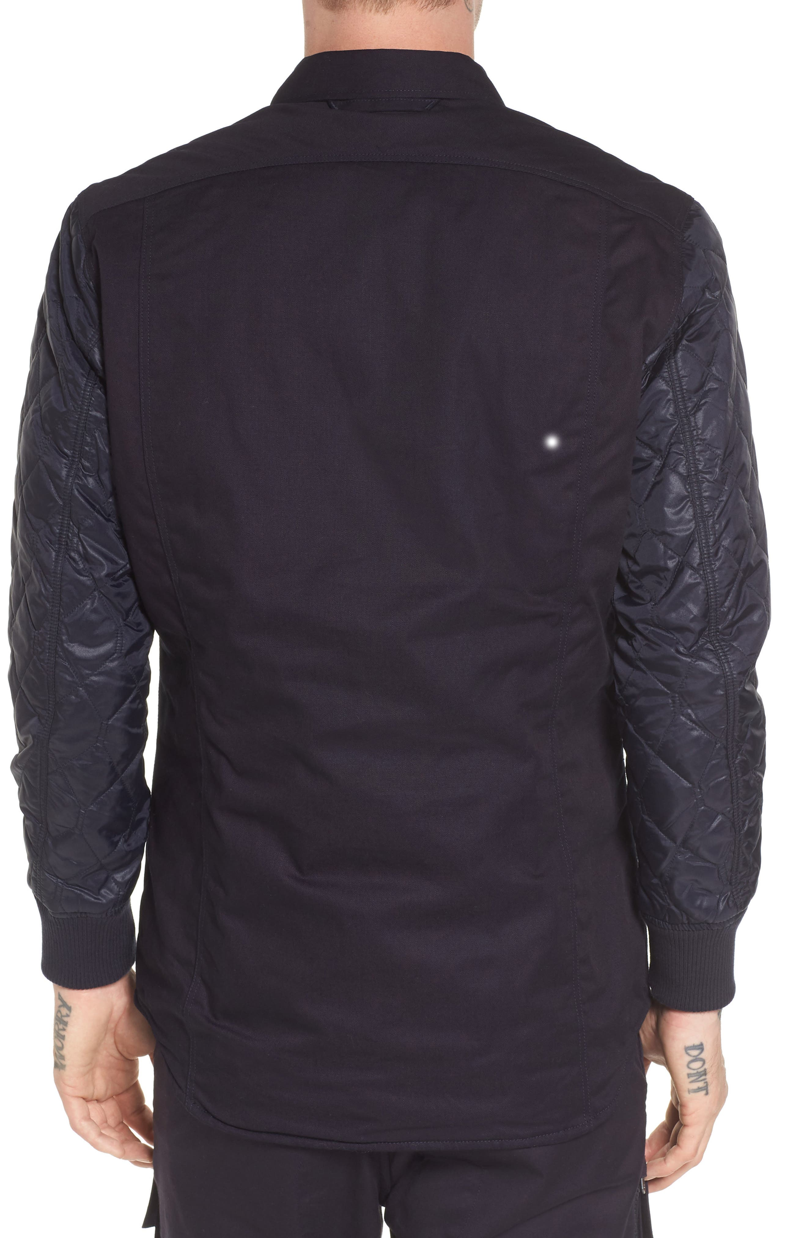 Alternate Image 2  - G-Star Raw 3301 HC Quilted Shirt Jacket