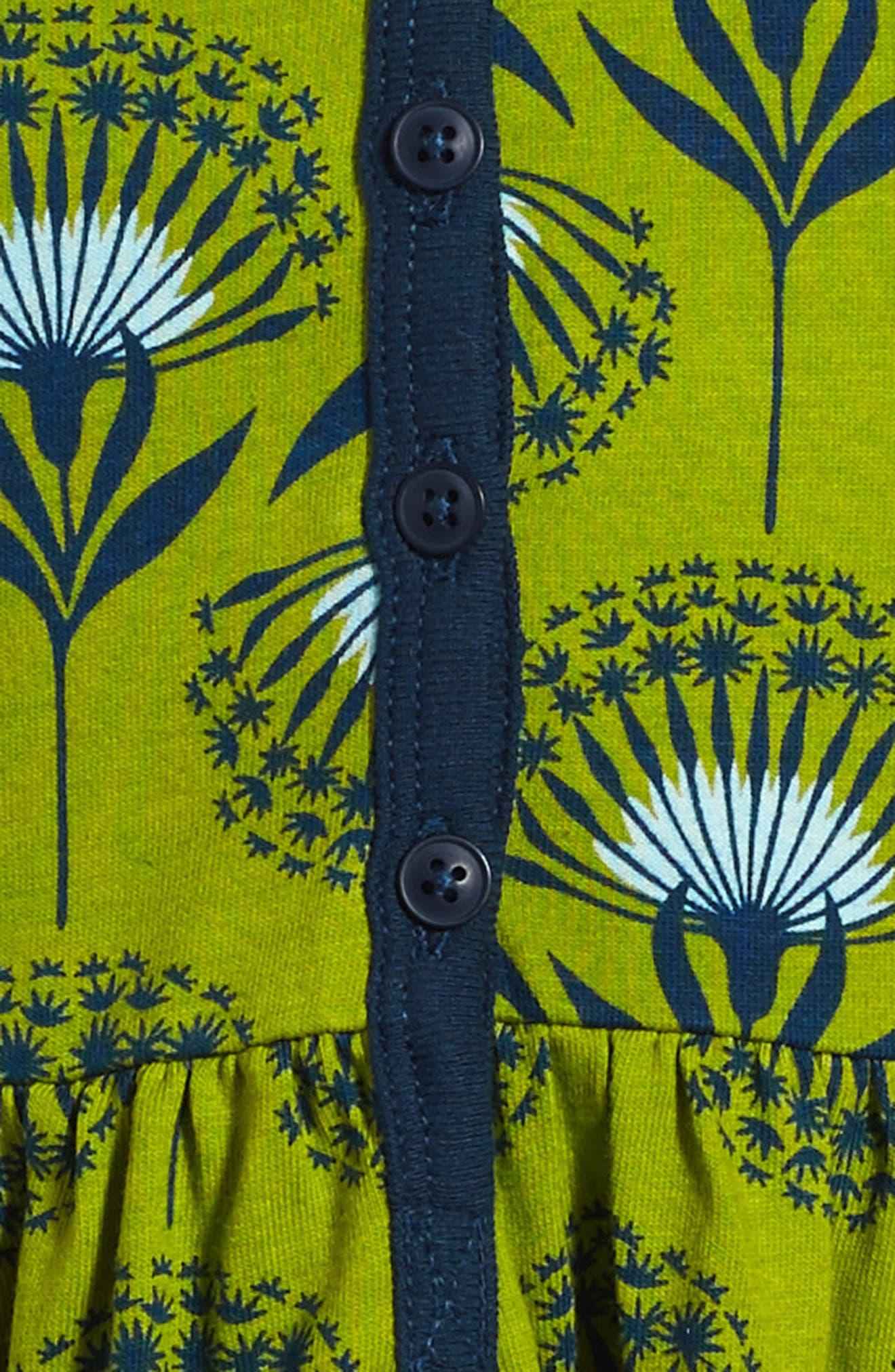 Alternate Image 3  - Tea Collection Dandelion Henley Dress (Toddler Girls, Little Girls & Big Girls)