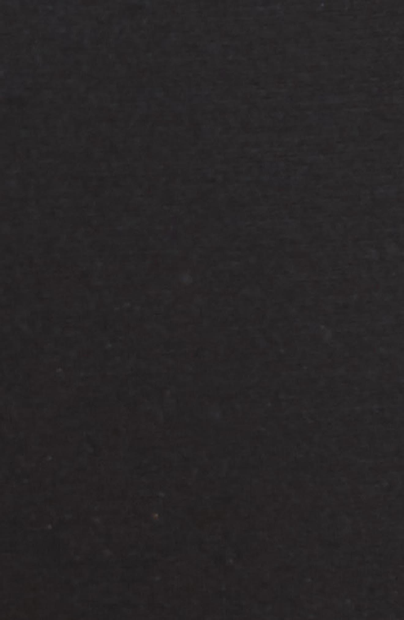 Straight Leg Jogger Pants,                             Alternate thumbnail 5, color,                             Black