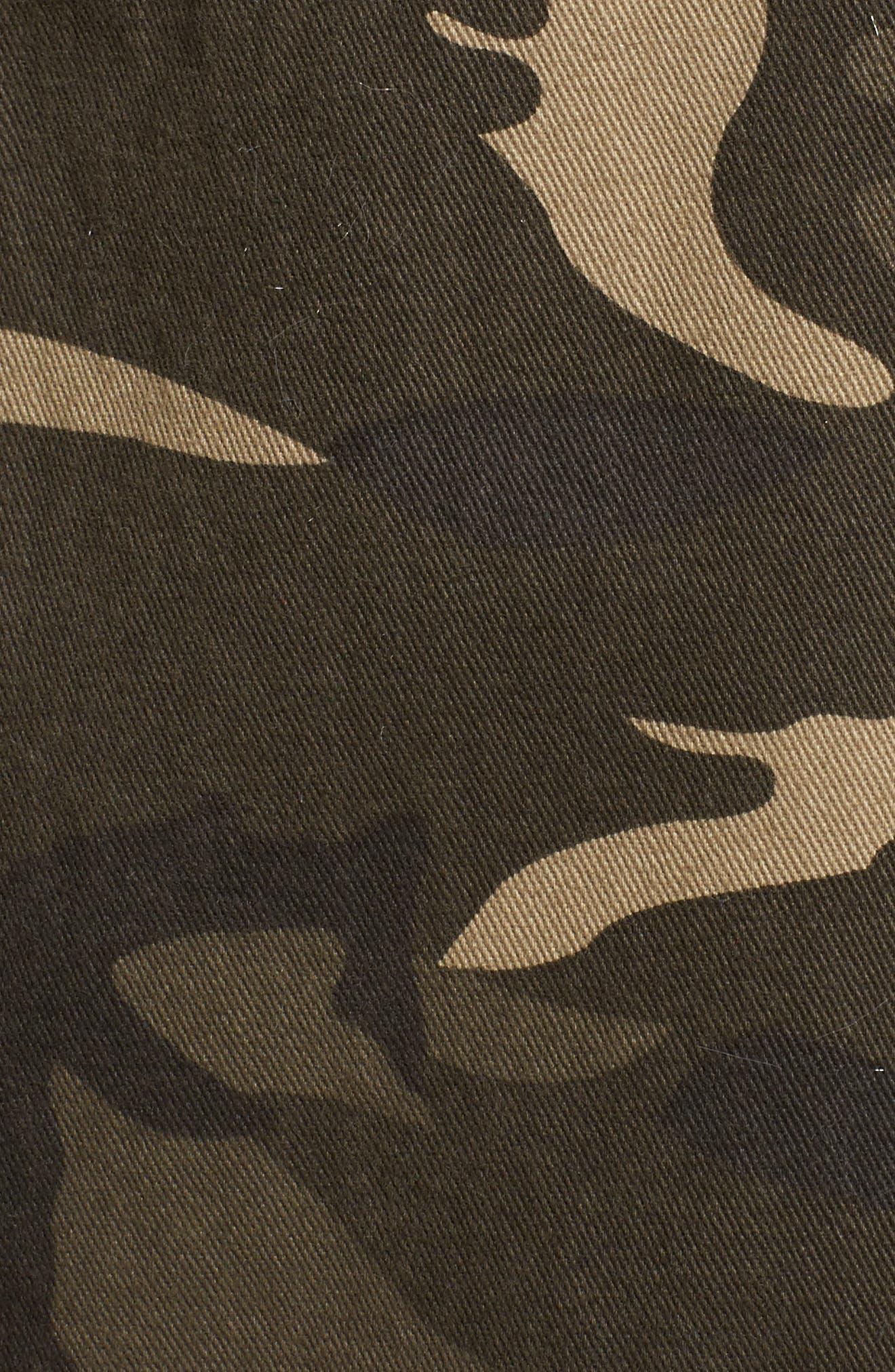 Camo Jacket,                             Alternate thumbnail 5, color,                             Graphite Olive