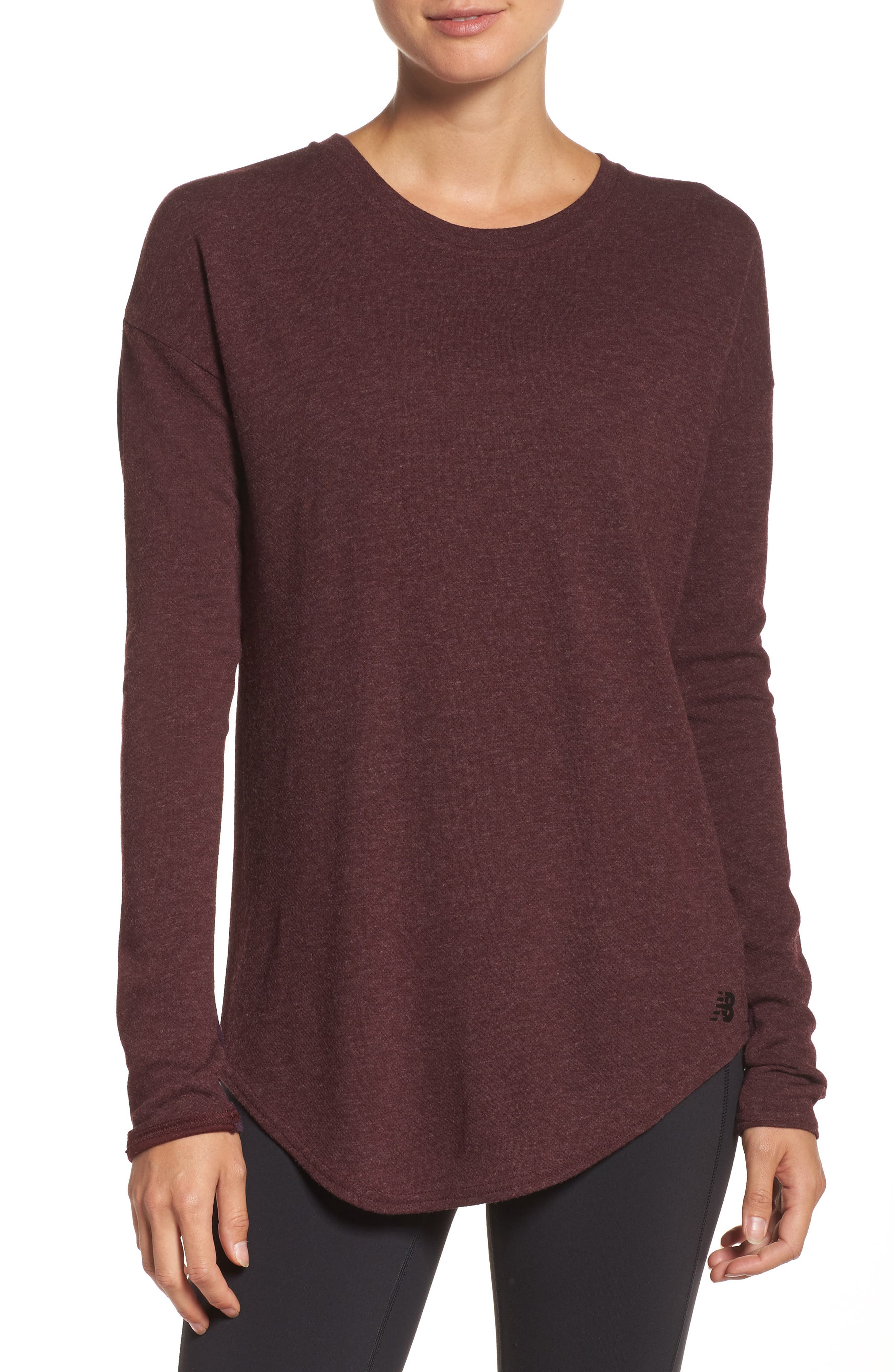 Alternate Image 1 Selected - New Balance 247 Luxe Long Sleeve Tee