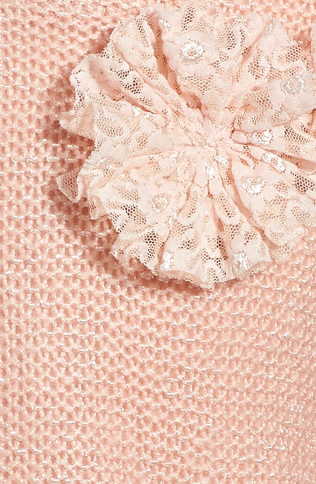Alternate Image 4  - Pippa & Julie Sweater & Lace Skirt Dress (Toddler Girls, Little Girls & Big Girls)
