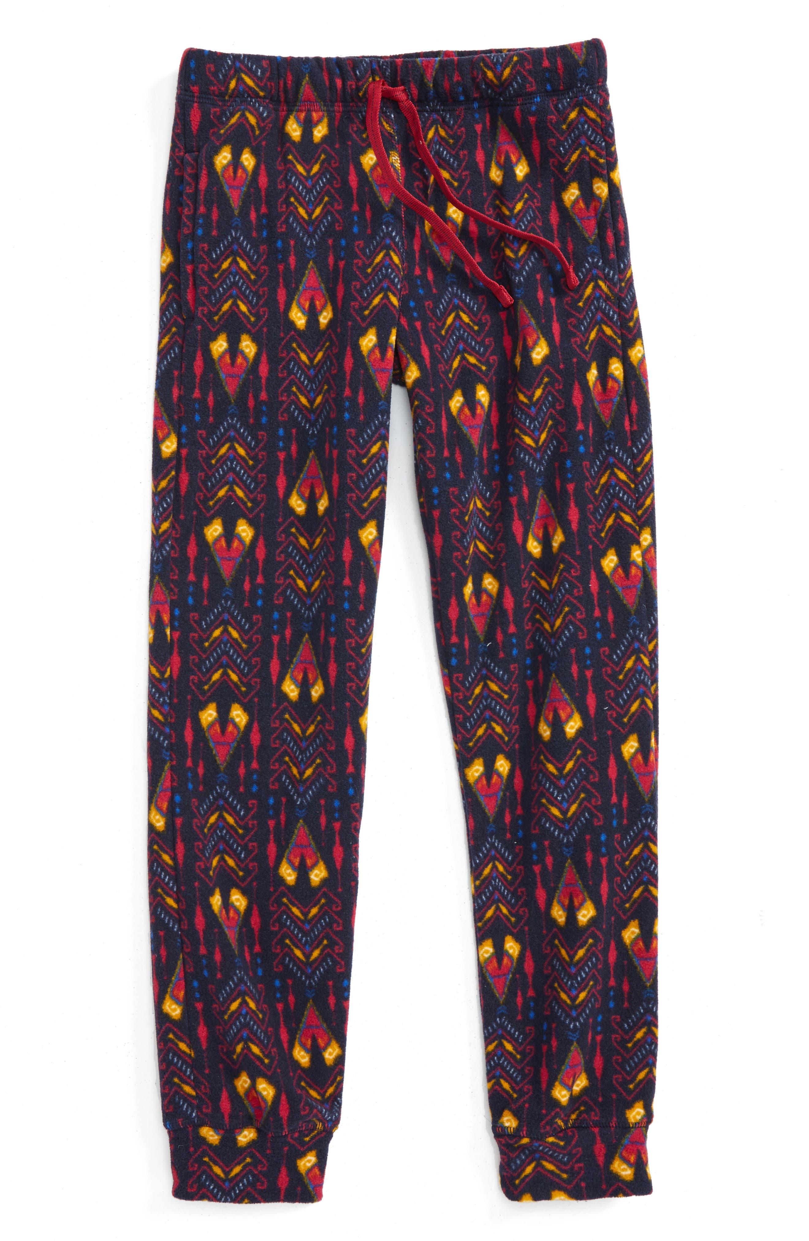 Alternate Image 2  - Patagonia Micro D® Fleece Pants (Little Girls & Big Girls)