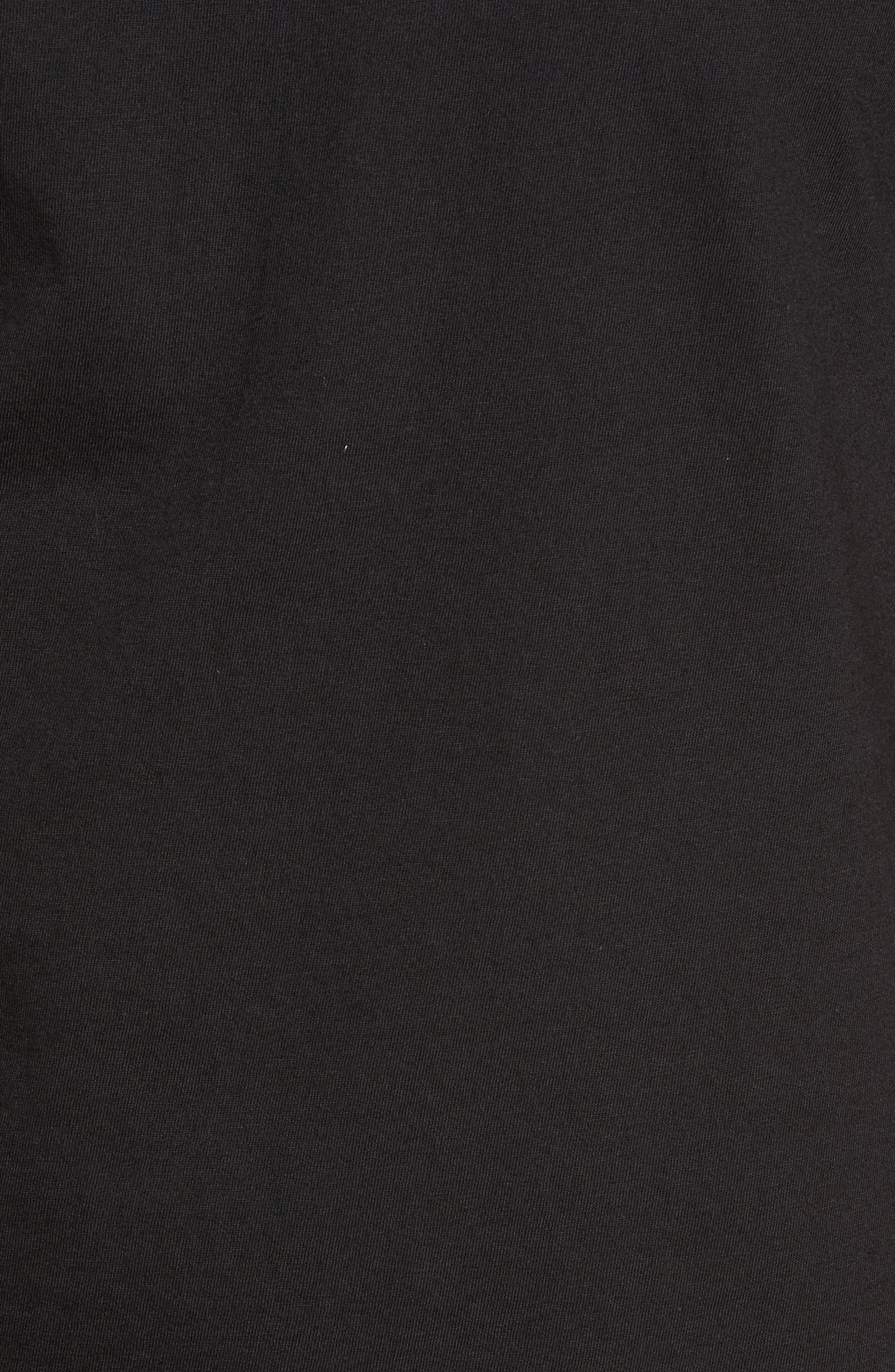 Tuna Roll Graphic T-Shirt,                             Alternate thumbnail 6, color,                             Black