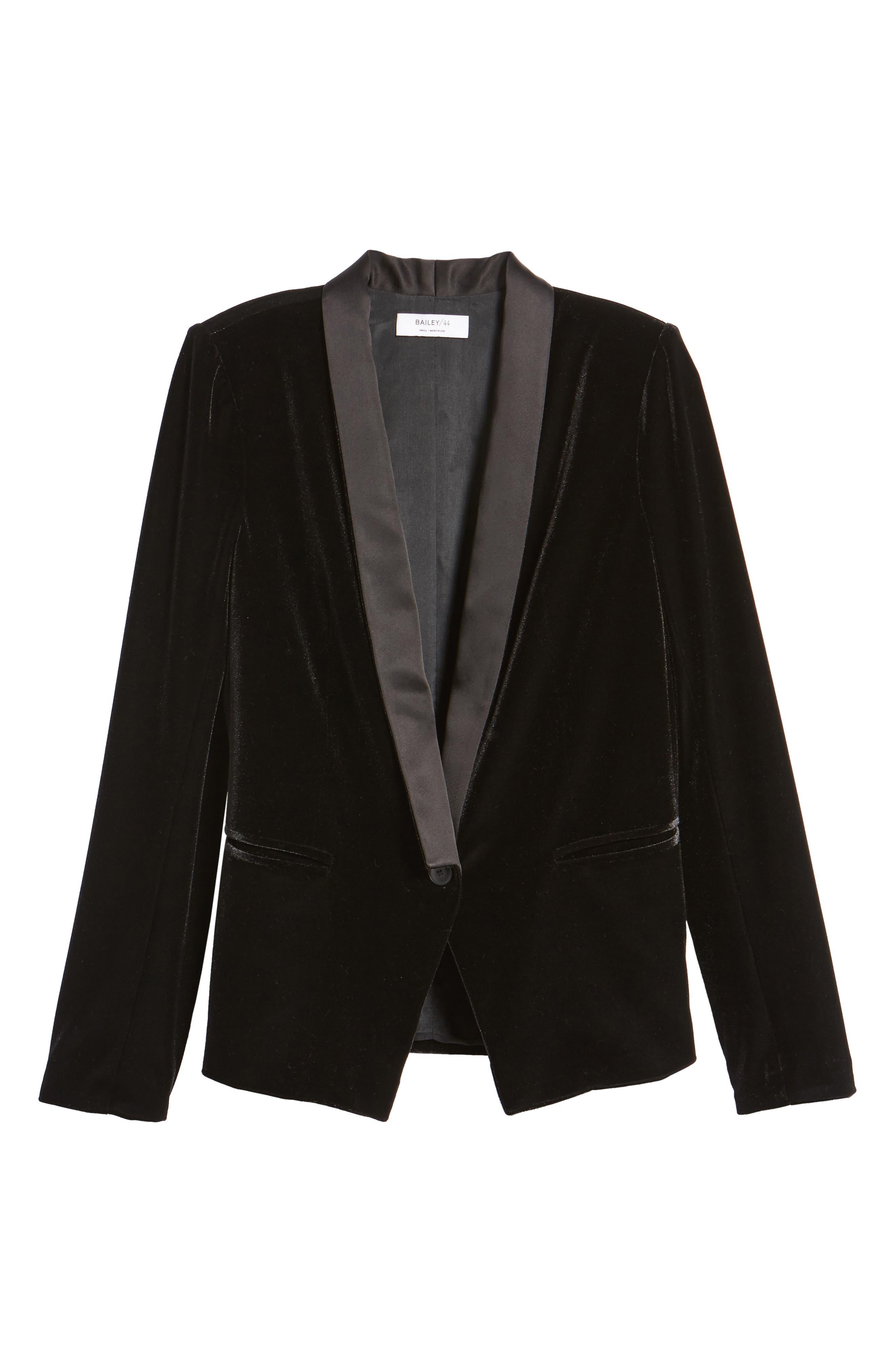 Dracula Jacket,                             Alternate thumbnail 6, color,                             Black
