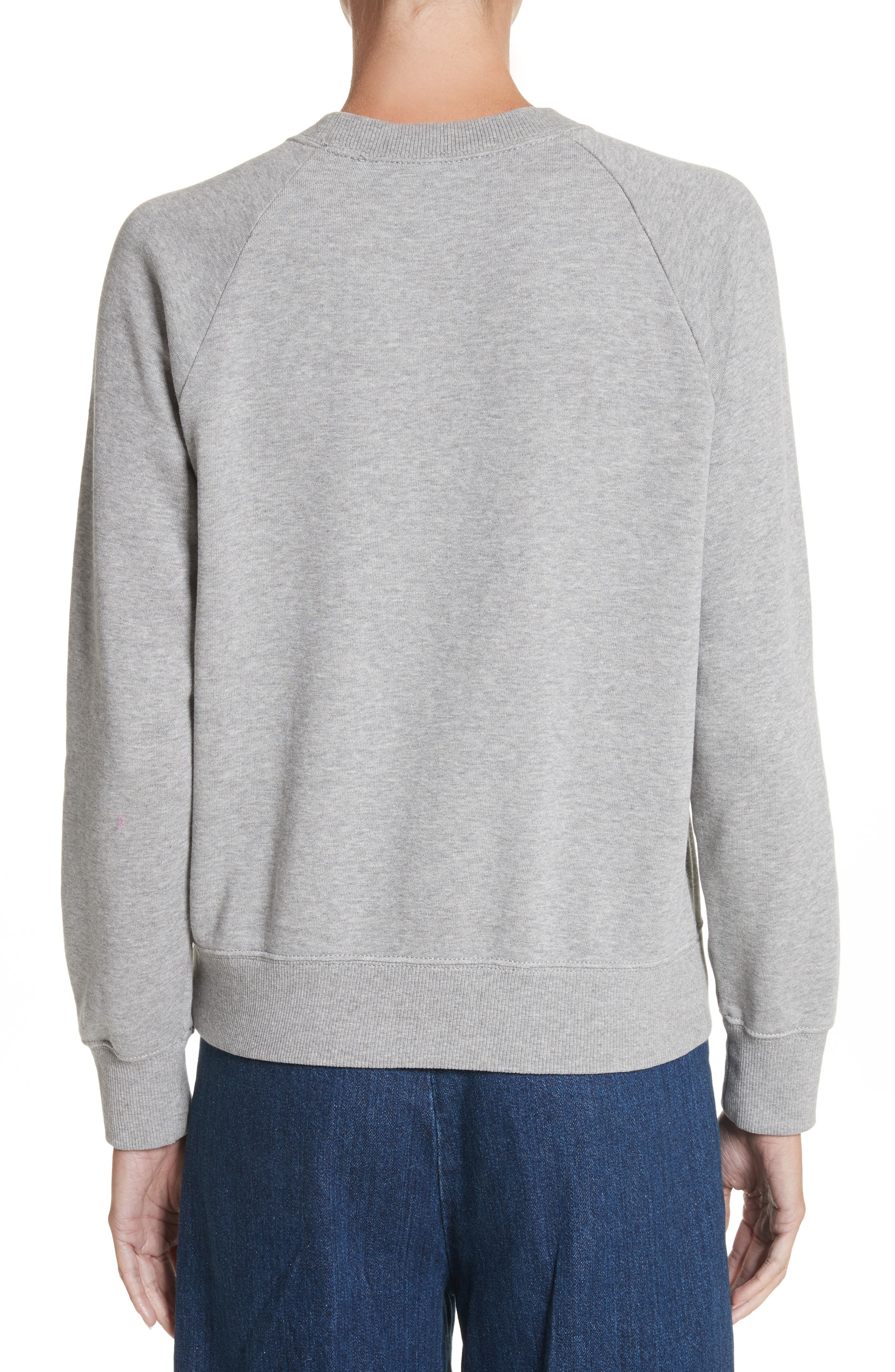 Alternate Image 2  - MARC JACOBS Graphic Raglan Sweatshirt