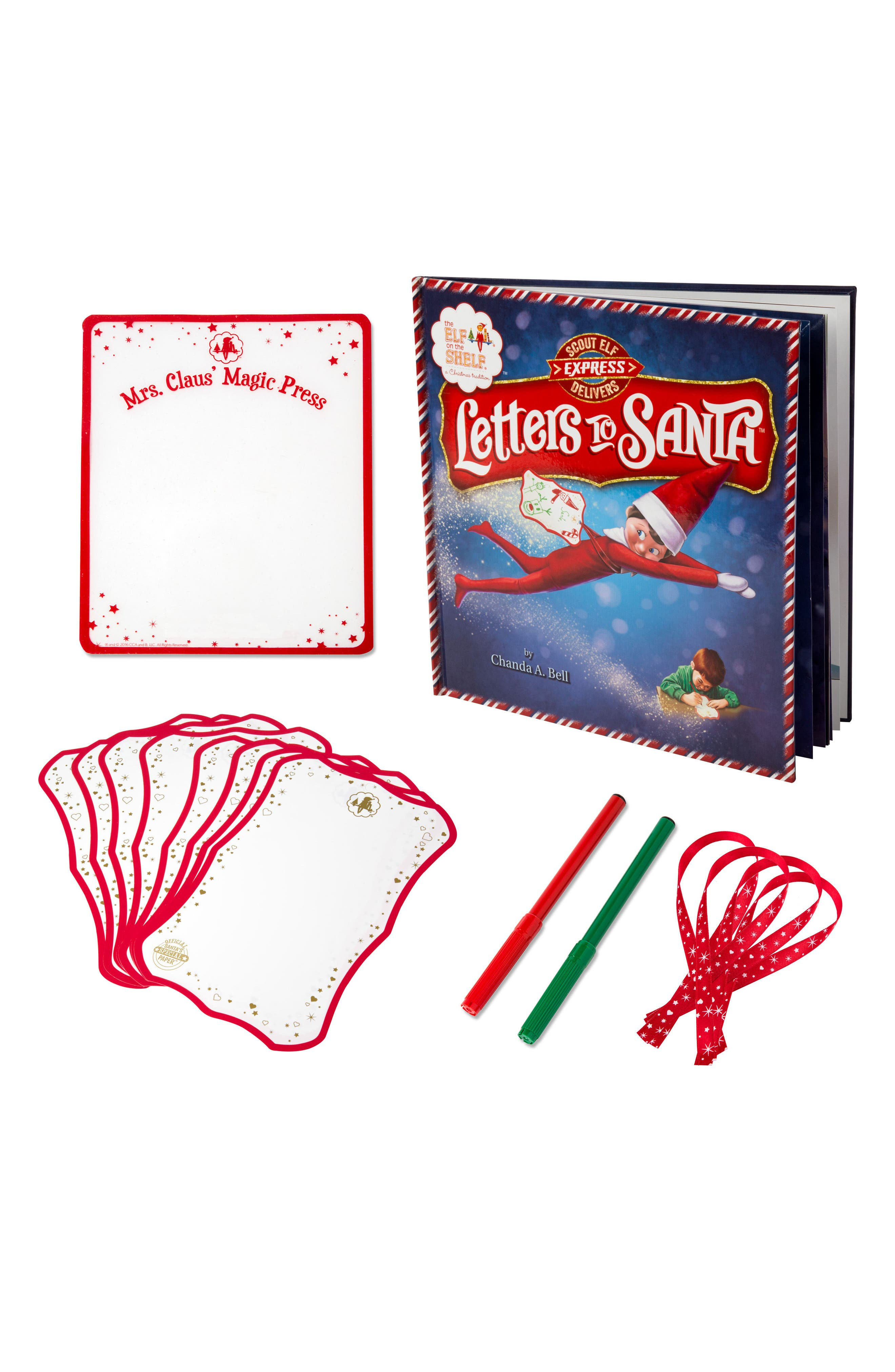 'Scout Elf Express Delivers Letters to Santa' Elf on the Shelf Book & 22-Piece Set