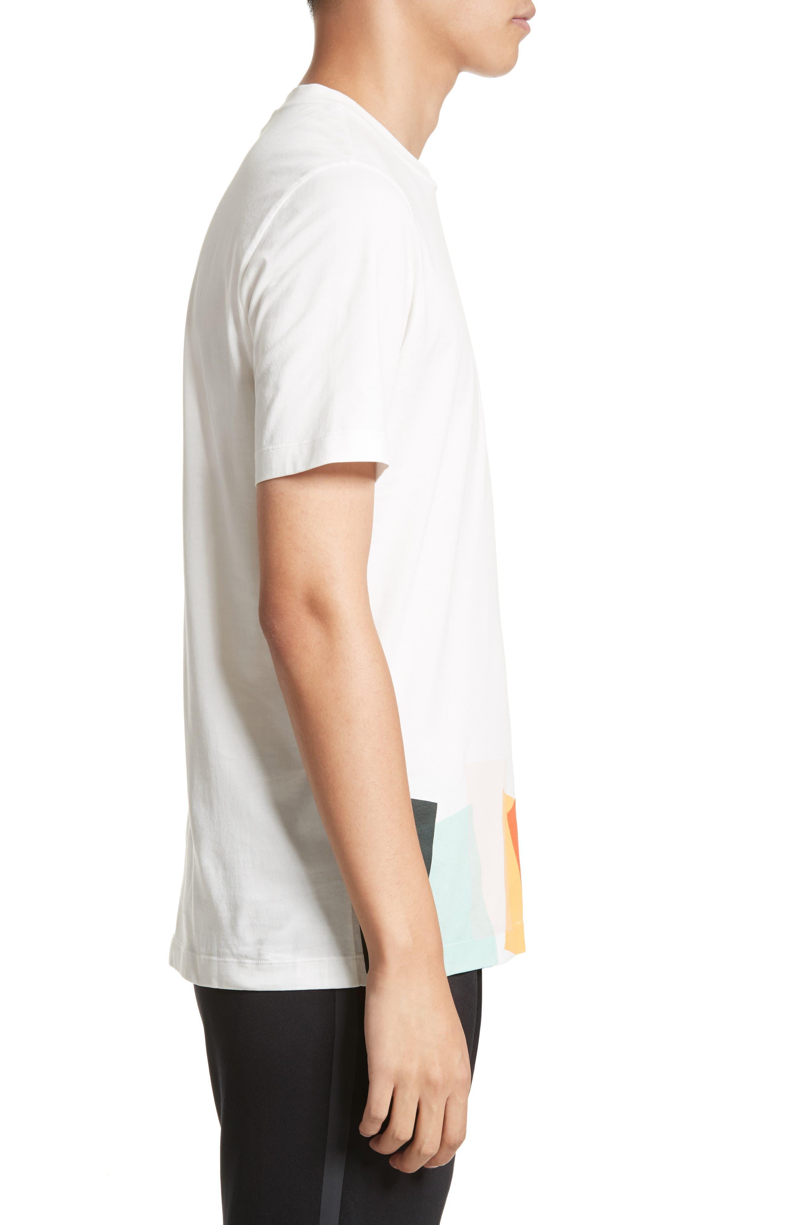 Alternate Image 3  - Paul Smith Colorblock Print T-shirt