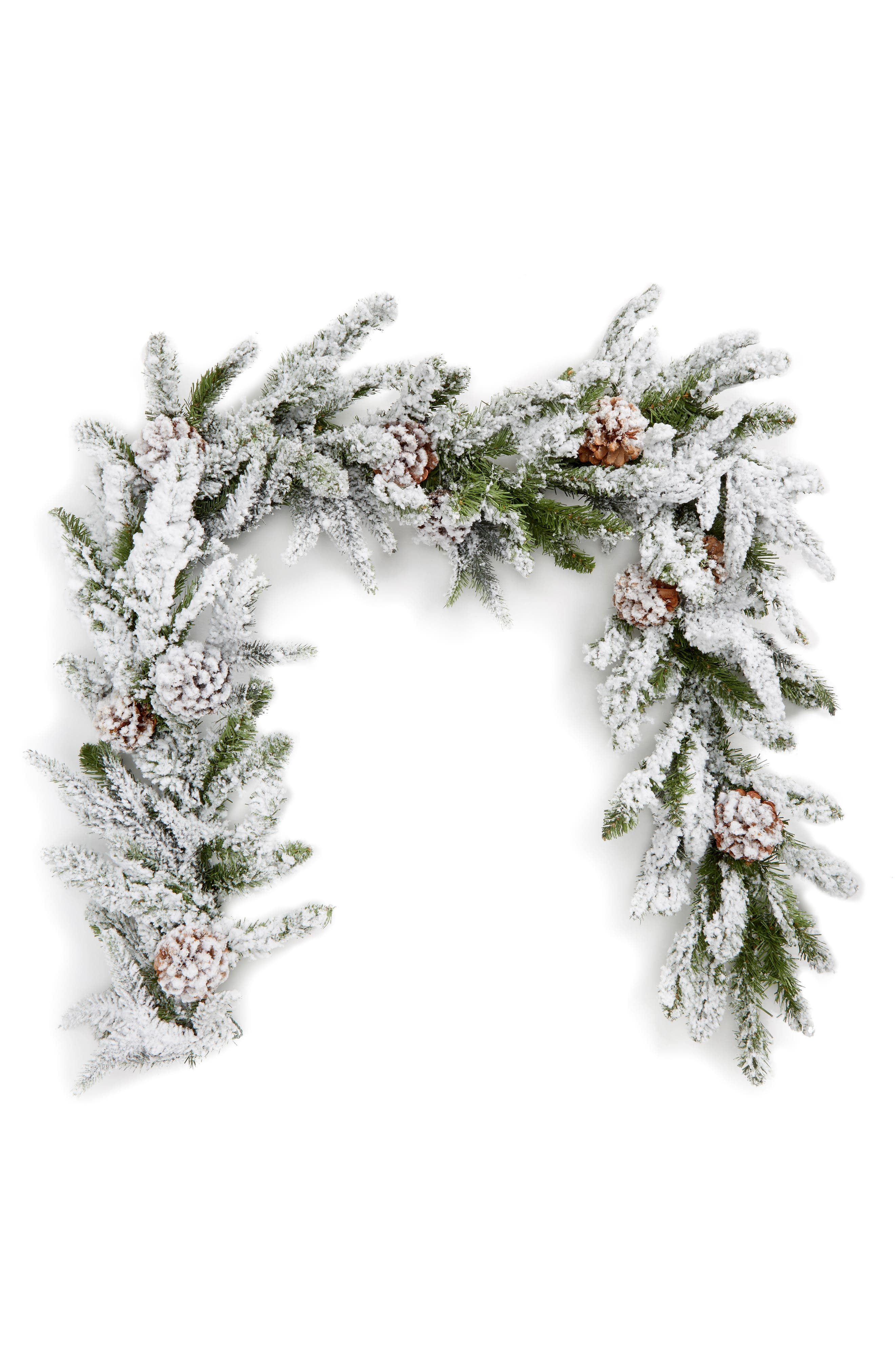 Main Image - ALLSTATE Pinecone & Snow Garland