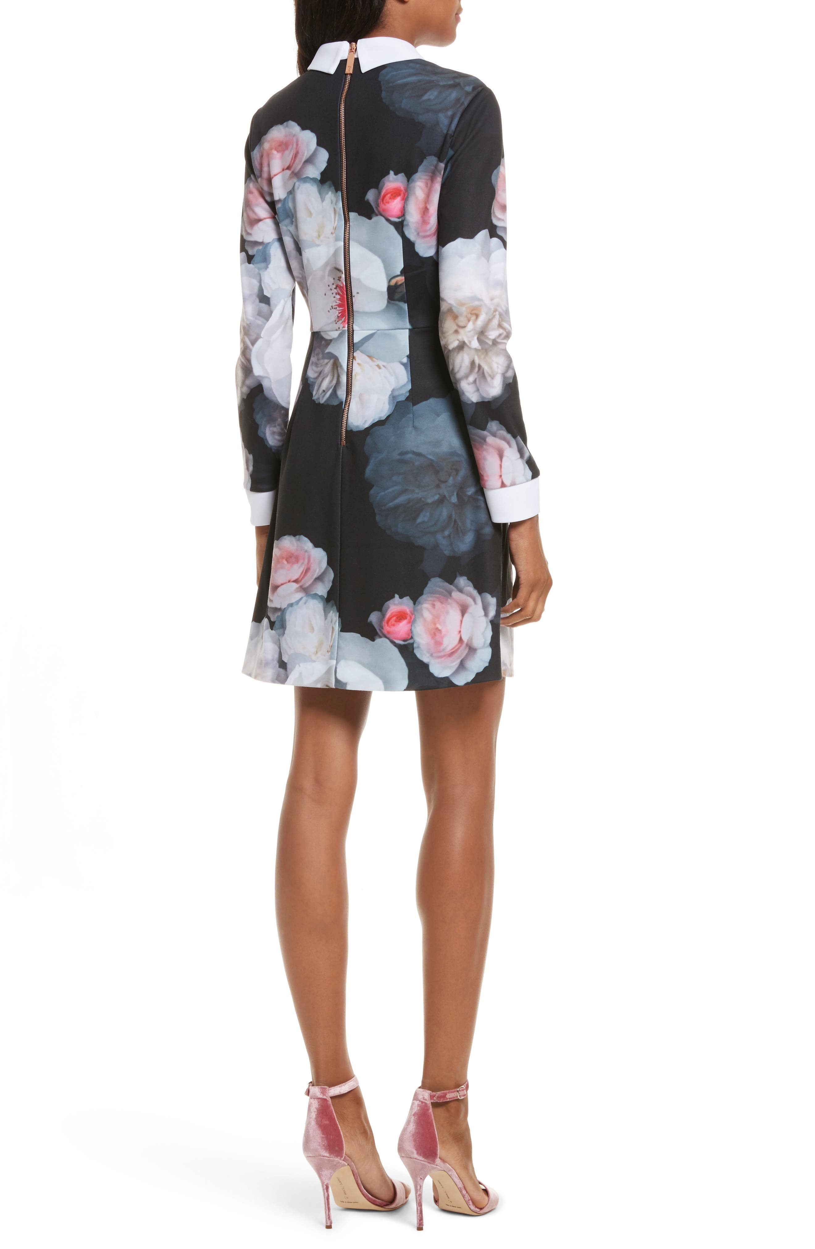 Alternate Image 2  - Ted Baker London Kaleesa Chelsea Flower Collar Dress