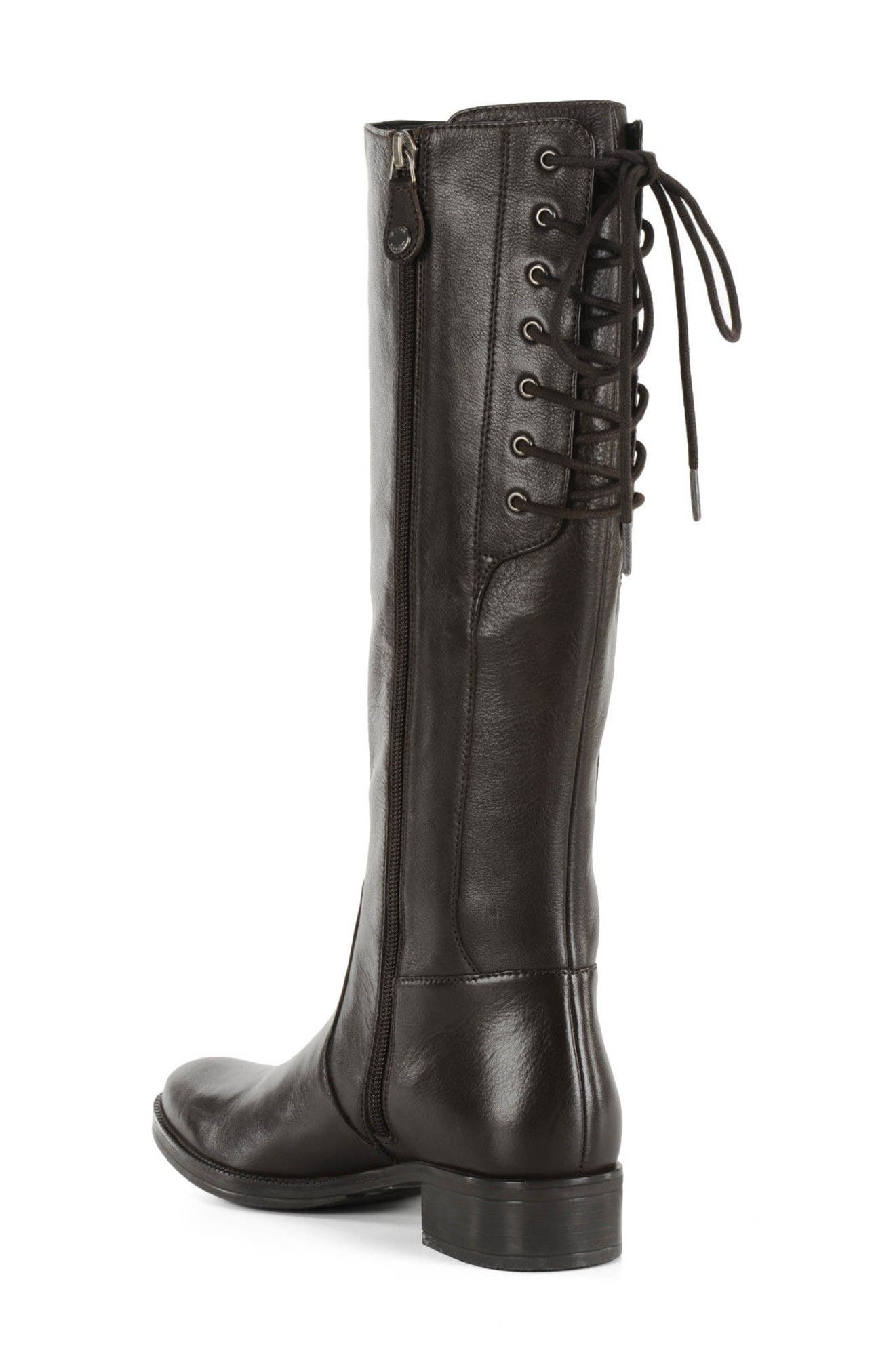 Mendi Tall Boot,                             Alternate thumbnail 2, color,                             Coffee Leather