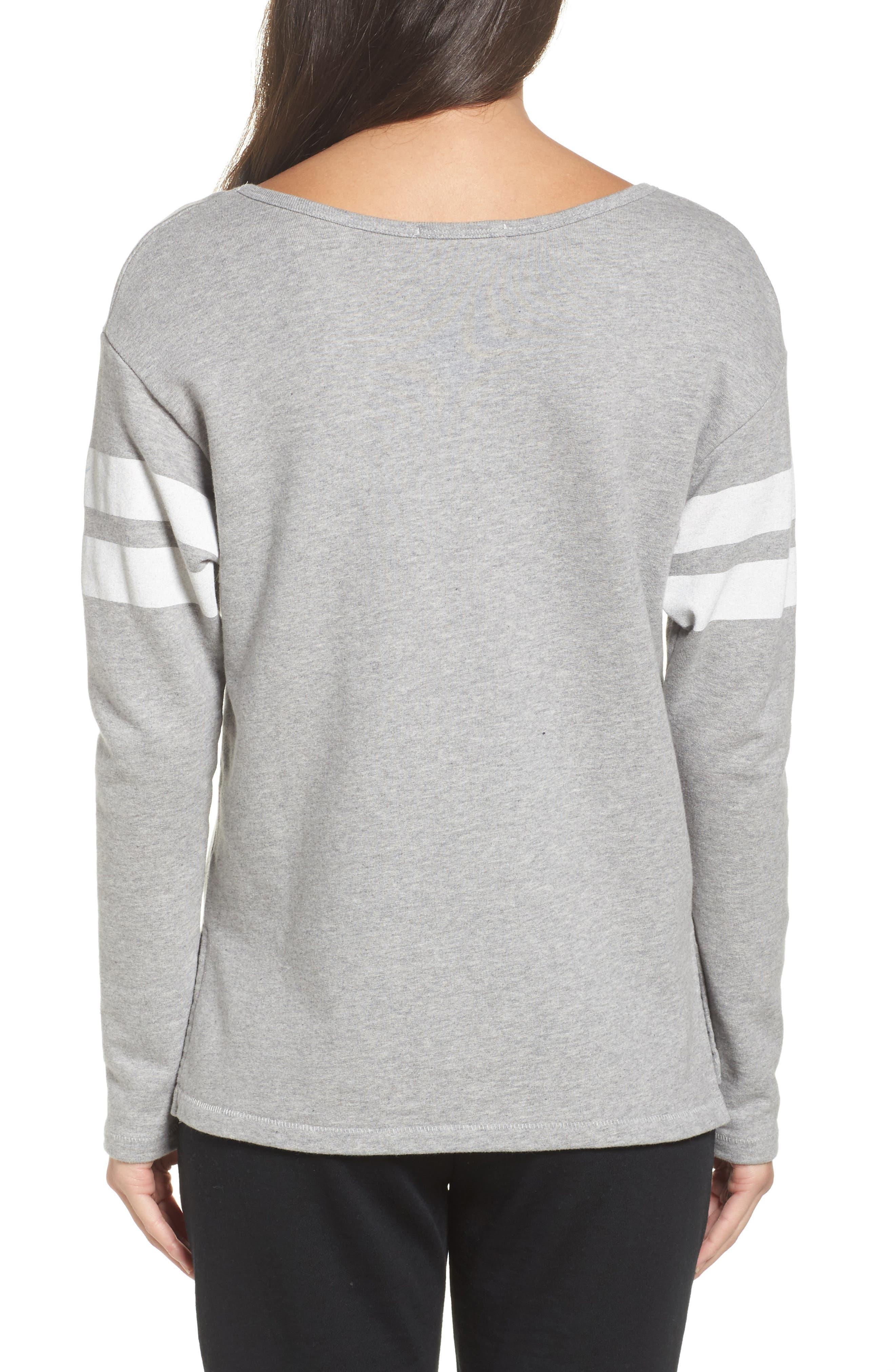 Alternate Image 2  - Junk Food NFL Los Angeles Rams Champion Sweatshirt