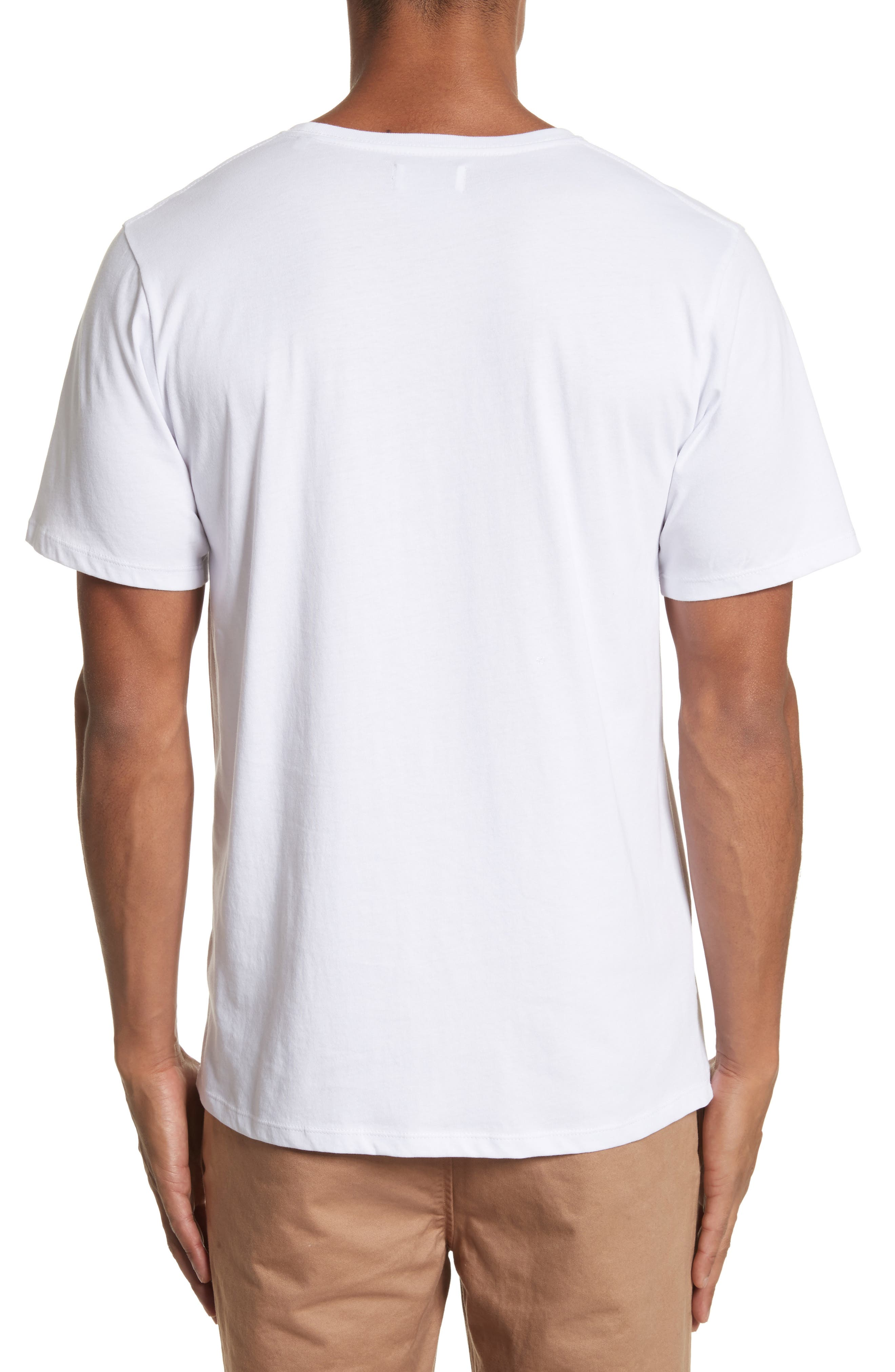 Saturdays USA Established Graphic T-Shirt,                             Alternate thumbnail 2, color,                             White