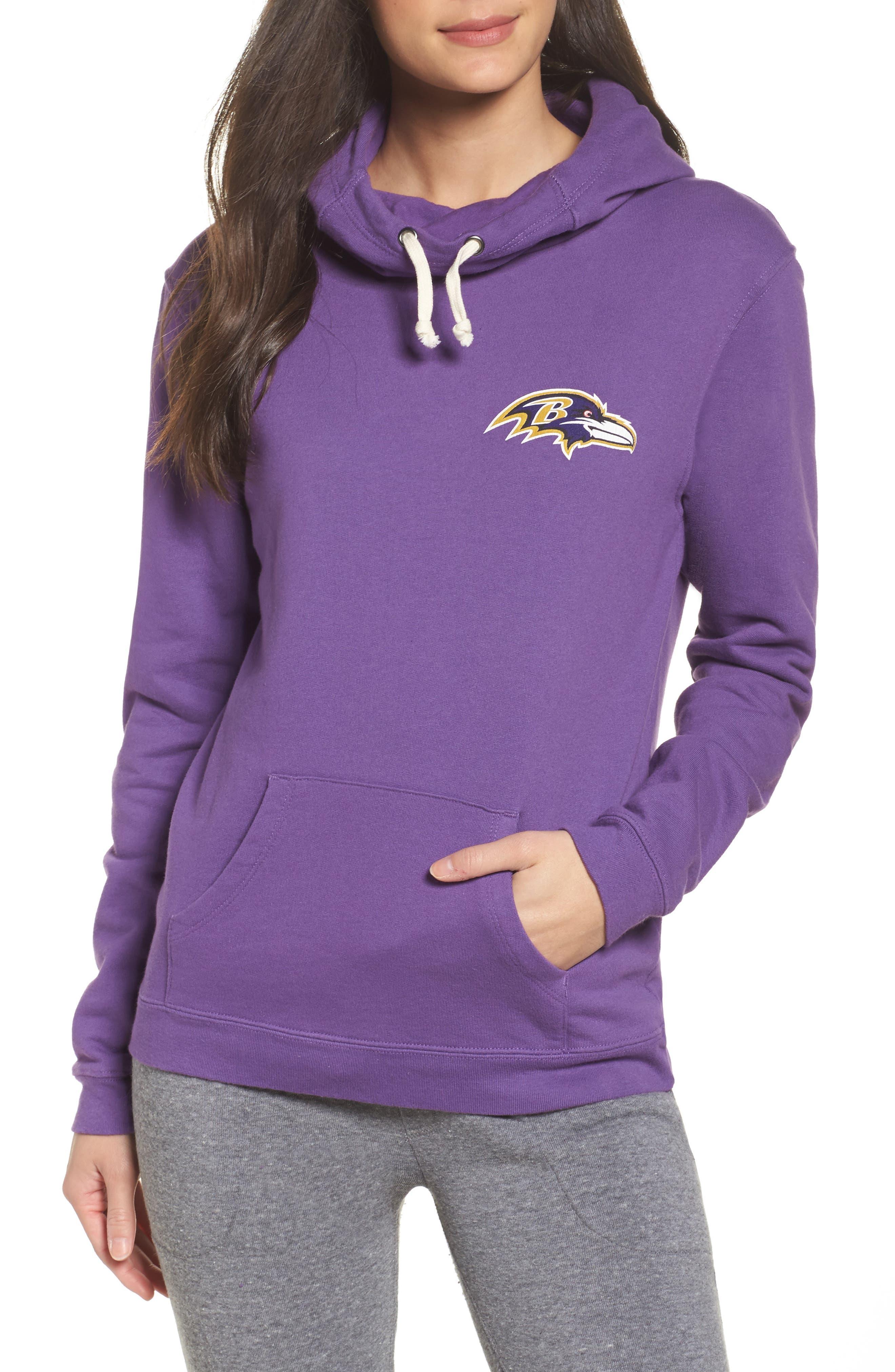 NFL Baltimore Ravens Sunday Hoodie,                         Main,                         color, Purple