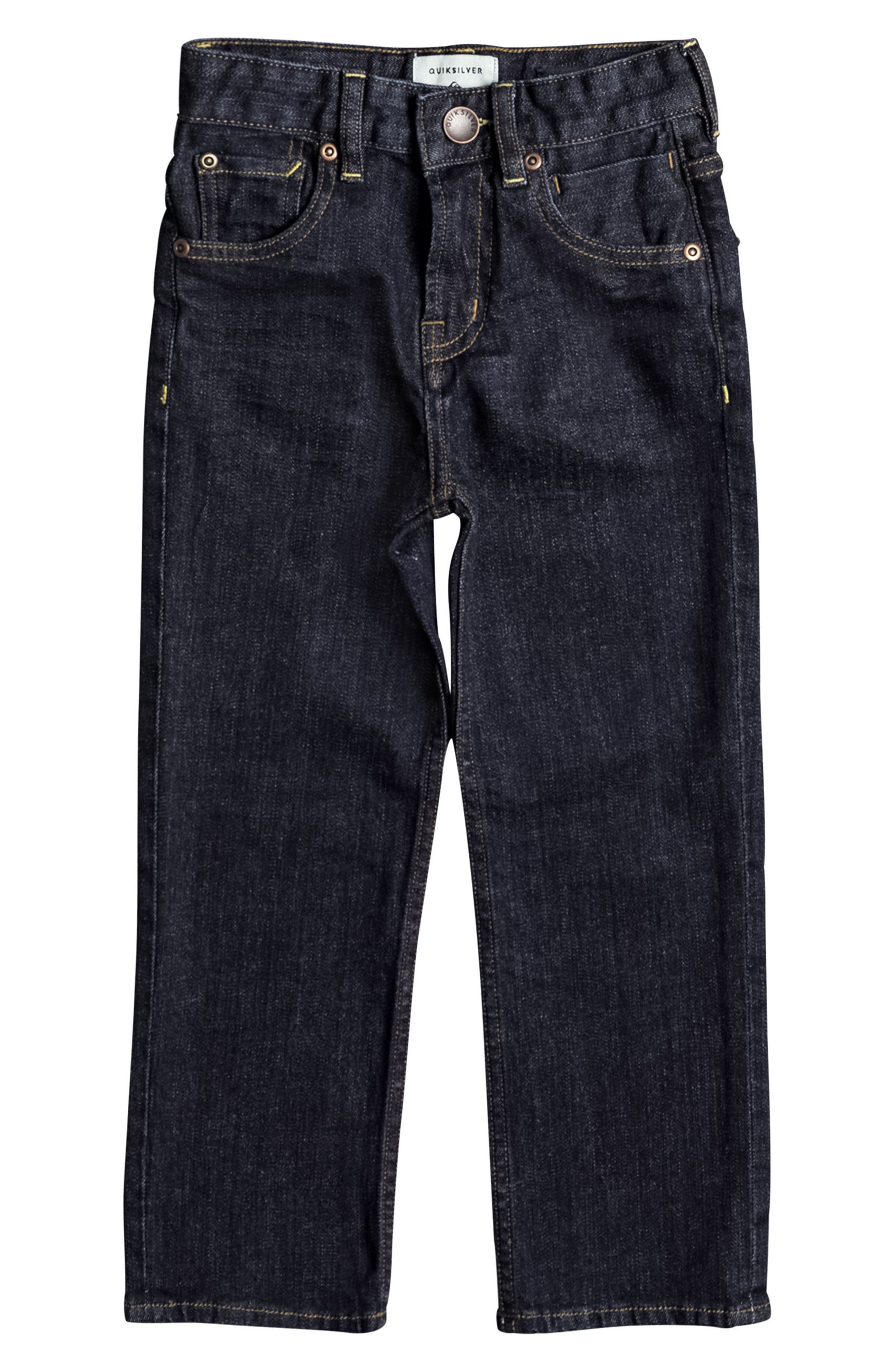 Alternate Image 1 Selected - Quiksilver Sequel Rinse Jeans (Toddler Boys & Little Boys)