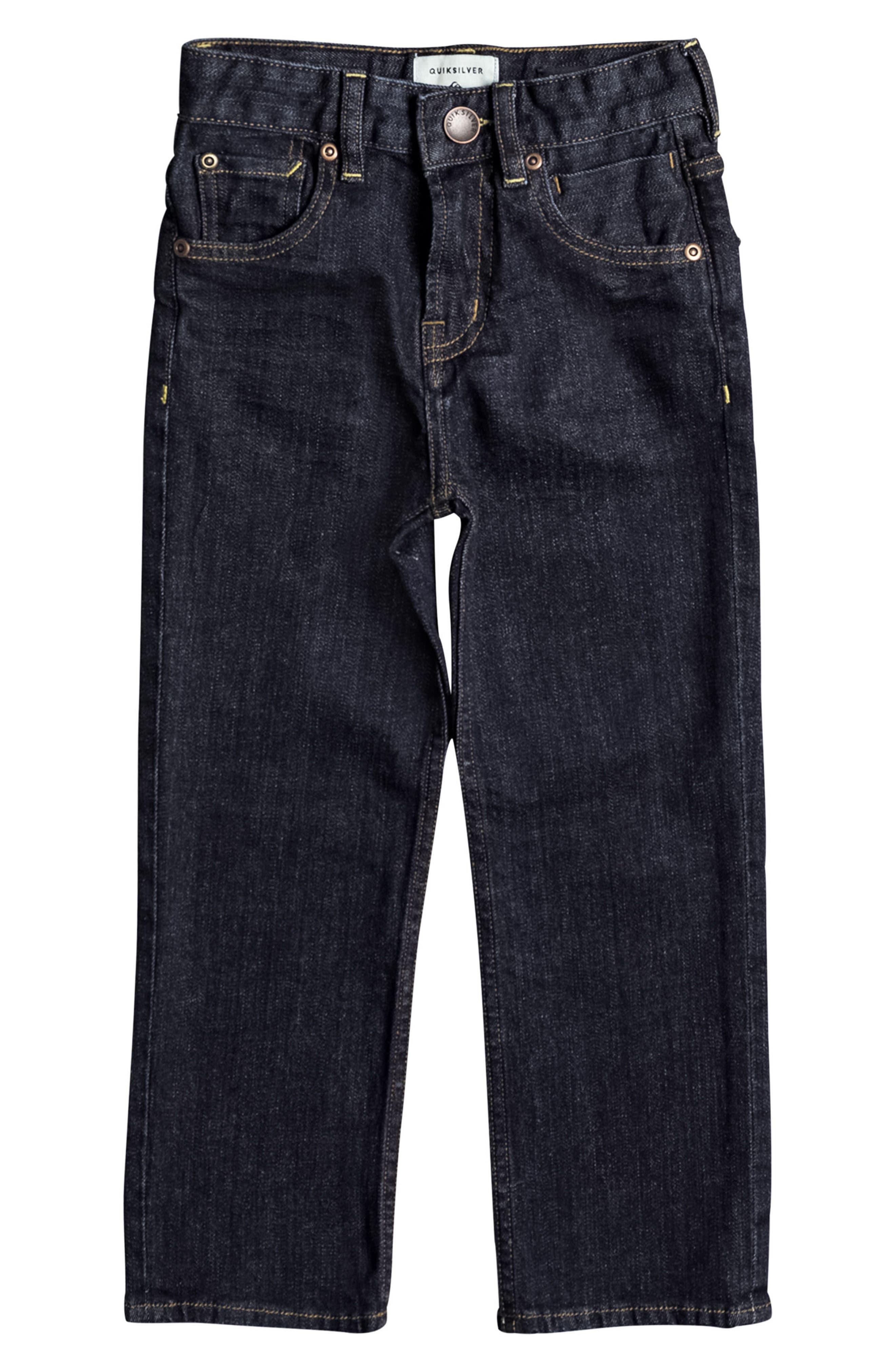 Main Image - Quiksilver Sequel Rinse Jeans (Toddler Boys & Little Boys)