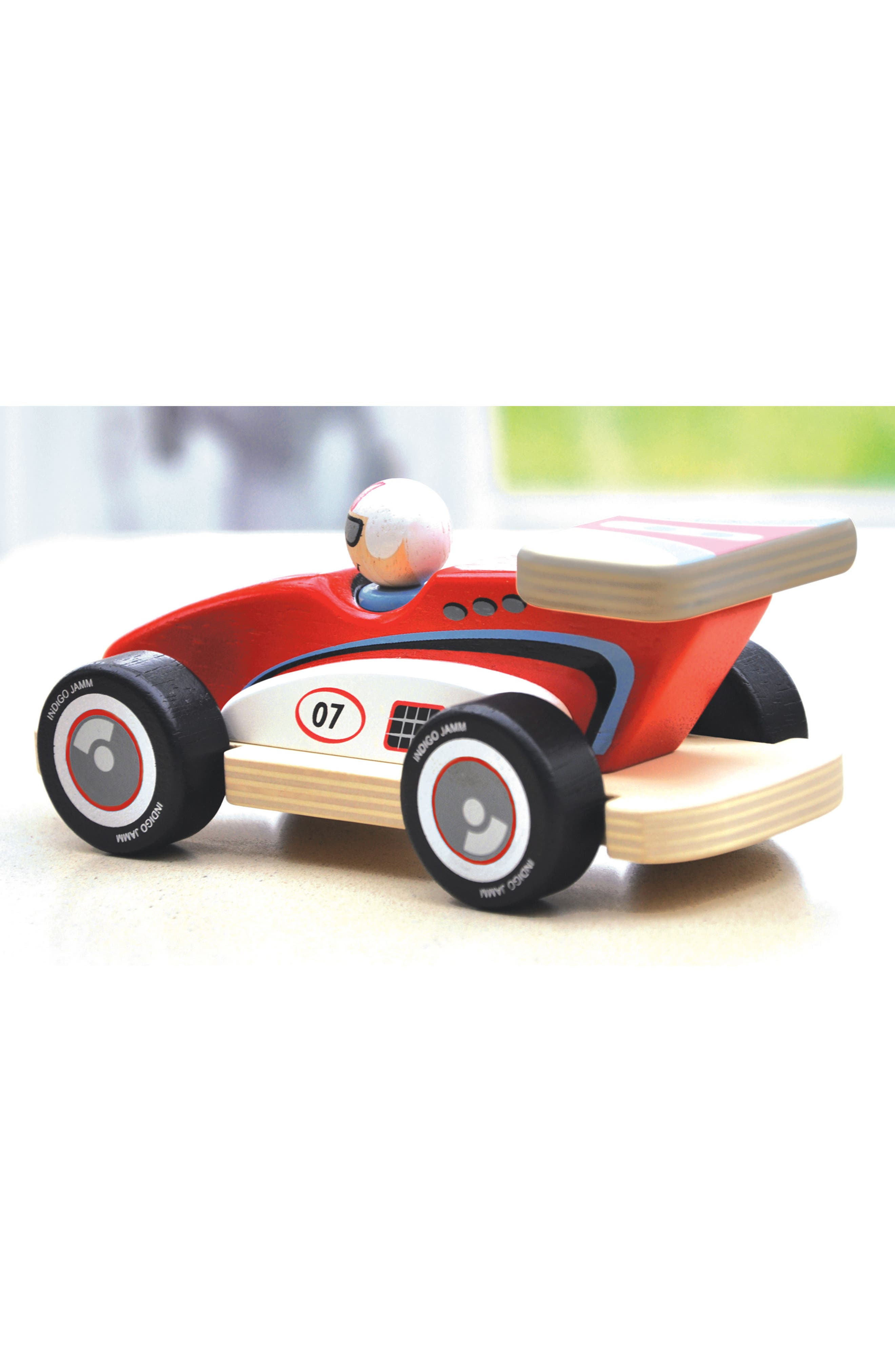 Rocky Racer Racing Car,                             Alternate thumbnail 2, color,                             Red