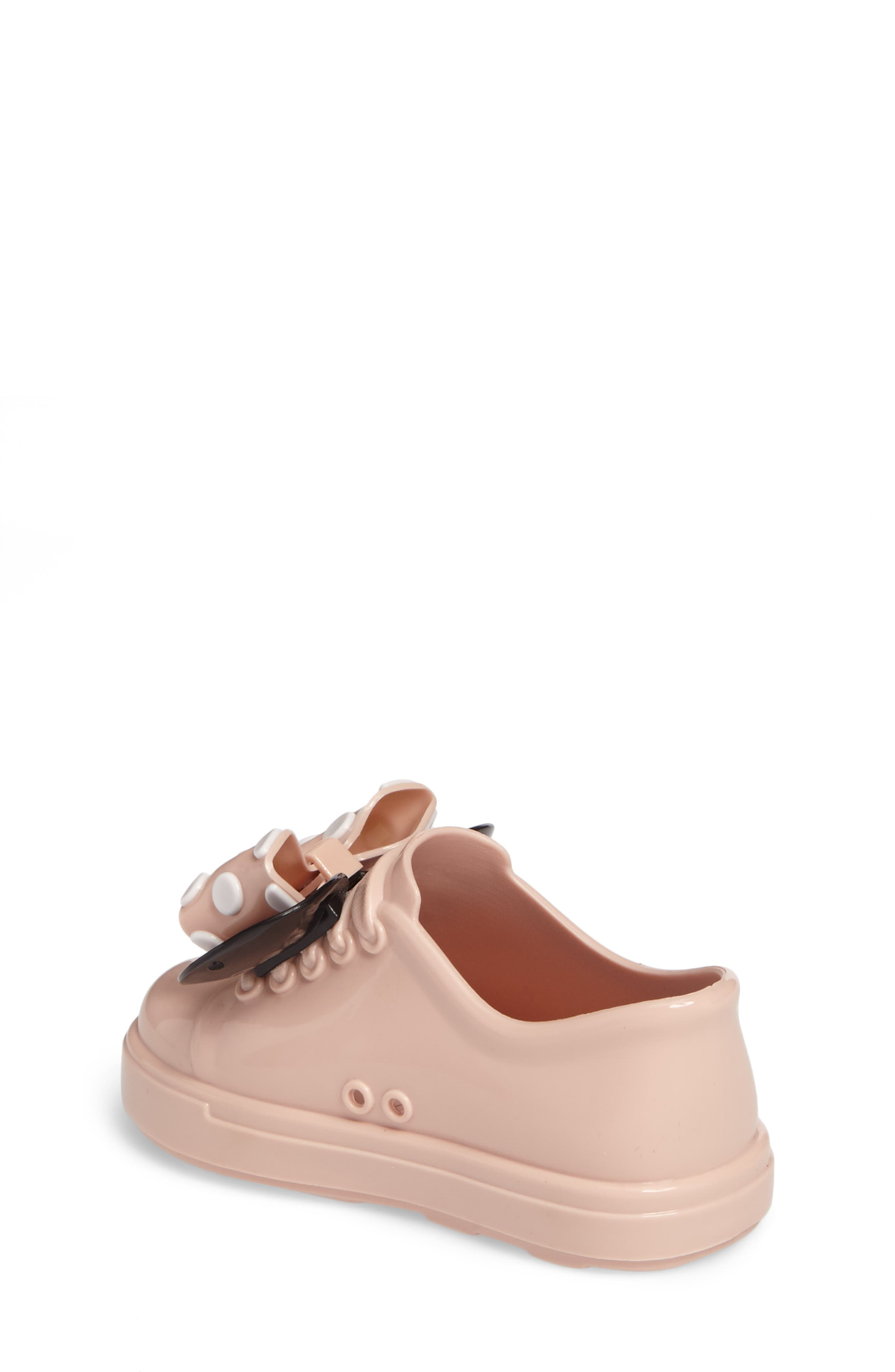 Alternate Image 2  - Mini Melissa Disney® Be Minnie Slip-On Sneaker (Walker & Toddler)